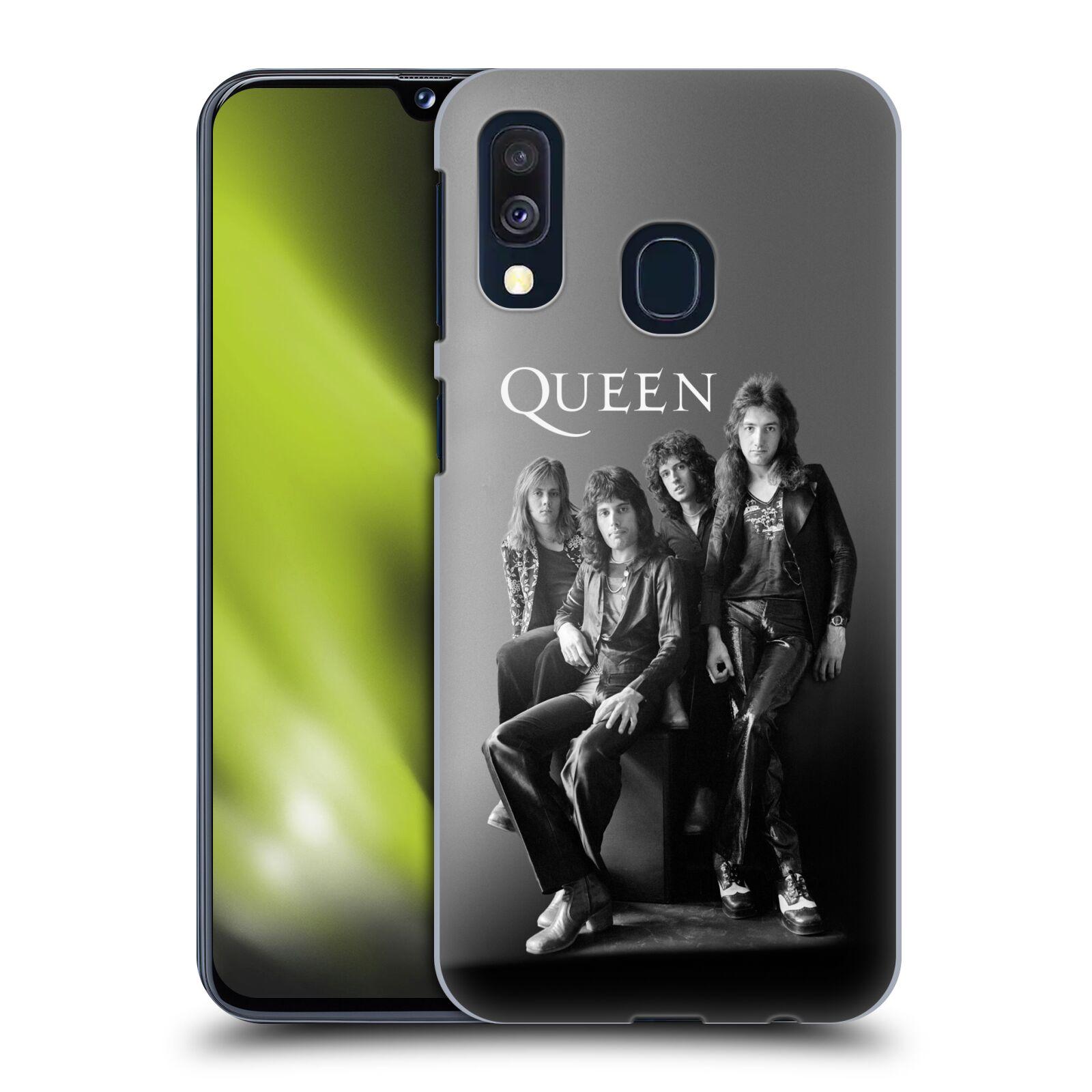 Pouzdro na mobil Samsung Galaxy A40 - HEAD CASE - kapela Queen skupinové foto