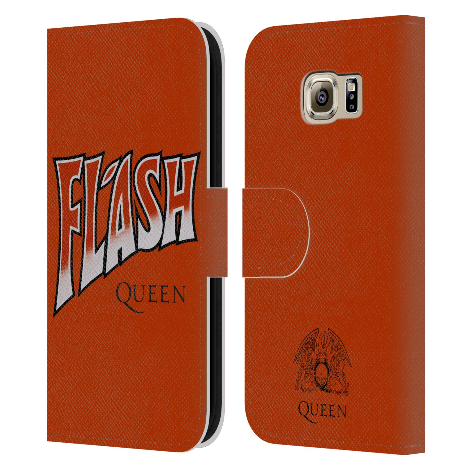 Cool Book Cover Queen : Official queen key art leather book wallet case cover for