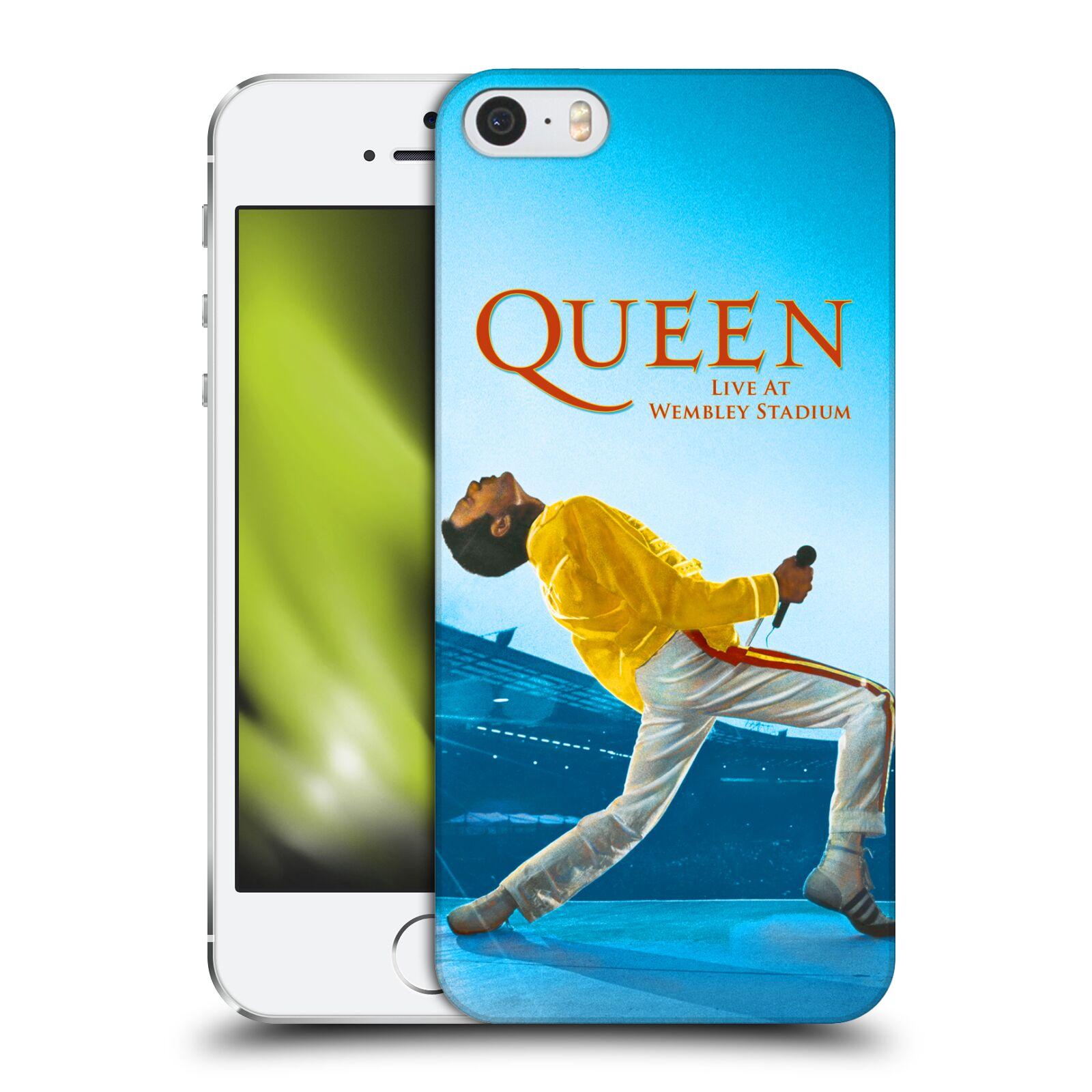 Plastové pouzdro pro mobil Apple Iphone 5   5S   SE zpěvák Queen skupina  Freddie Mercury b28507aadf6