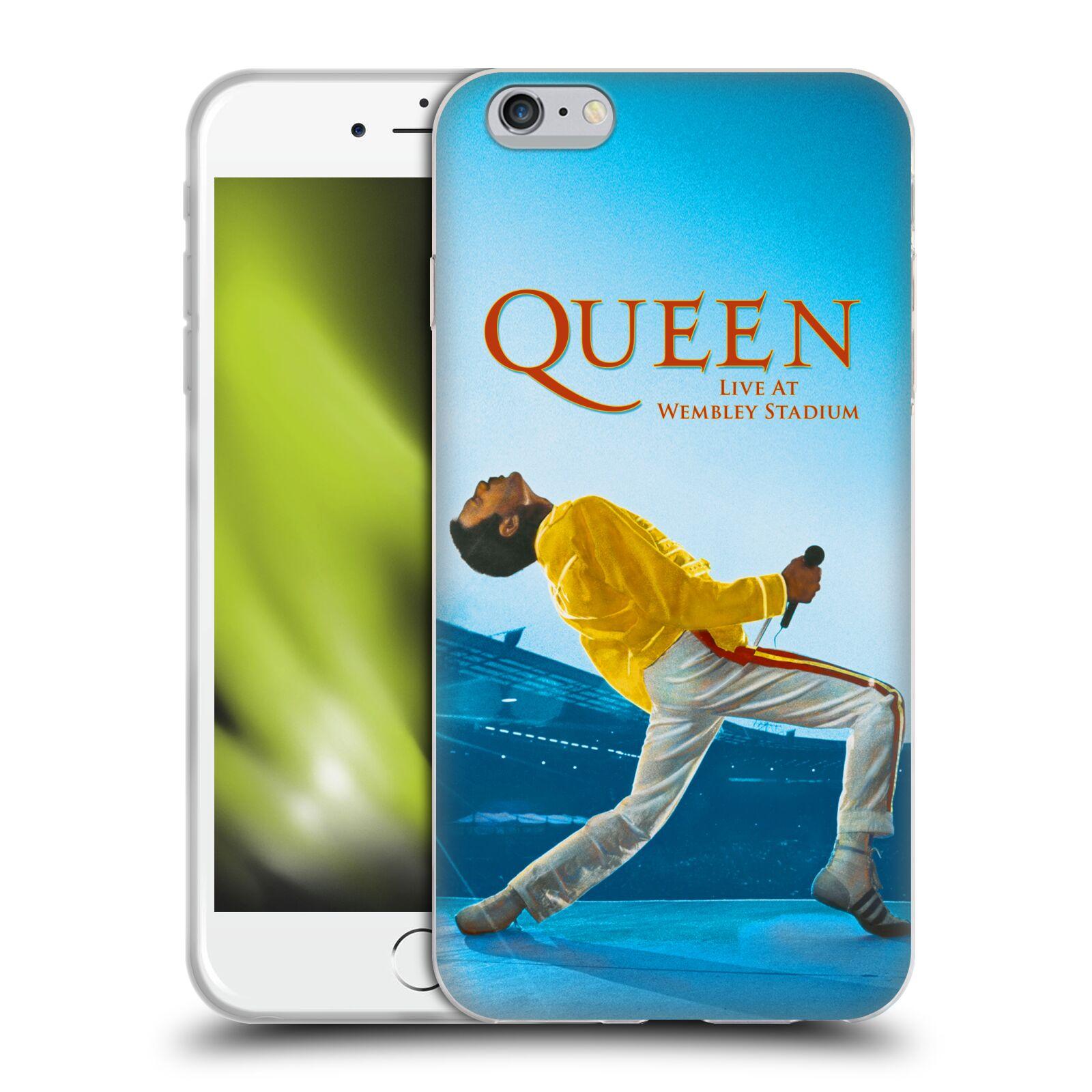 HEAD CASE silikonový obal na mobil Apple Iphone 6/6S PLUS zpěvák Queen skupina Freddie Mercury