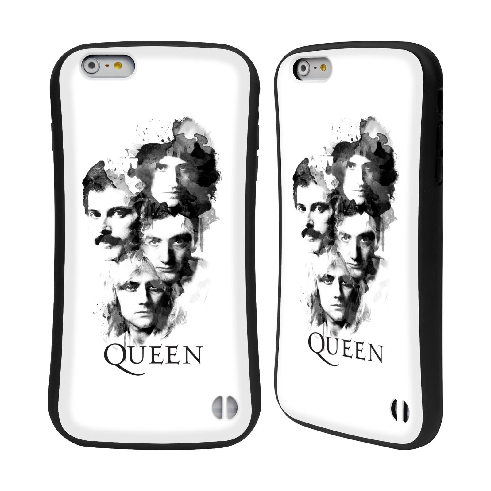 HEAD CASE odolný obal na mobil Apple Iphone 6/6S PLUS kapela Queen kreslené tváře