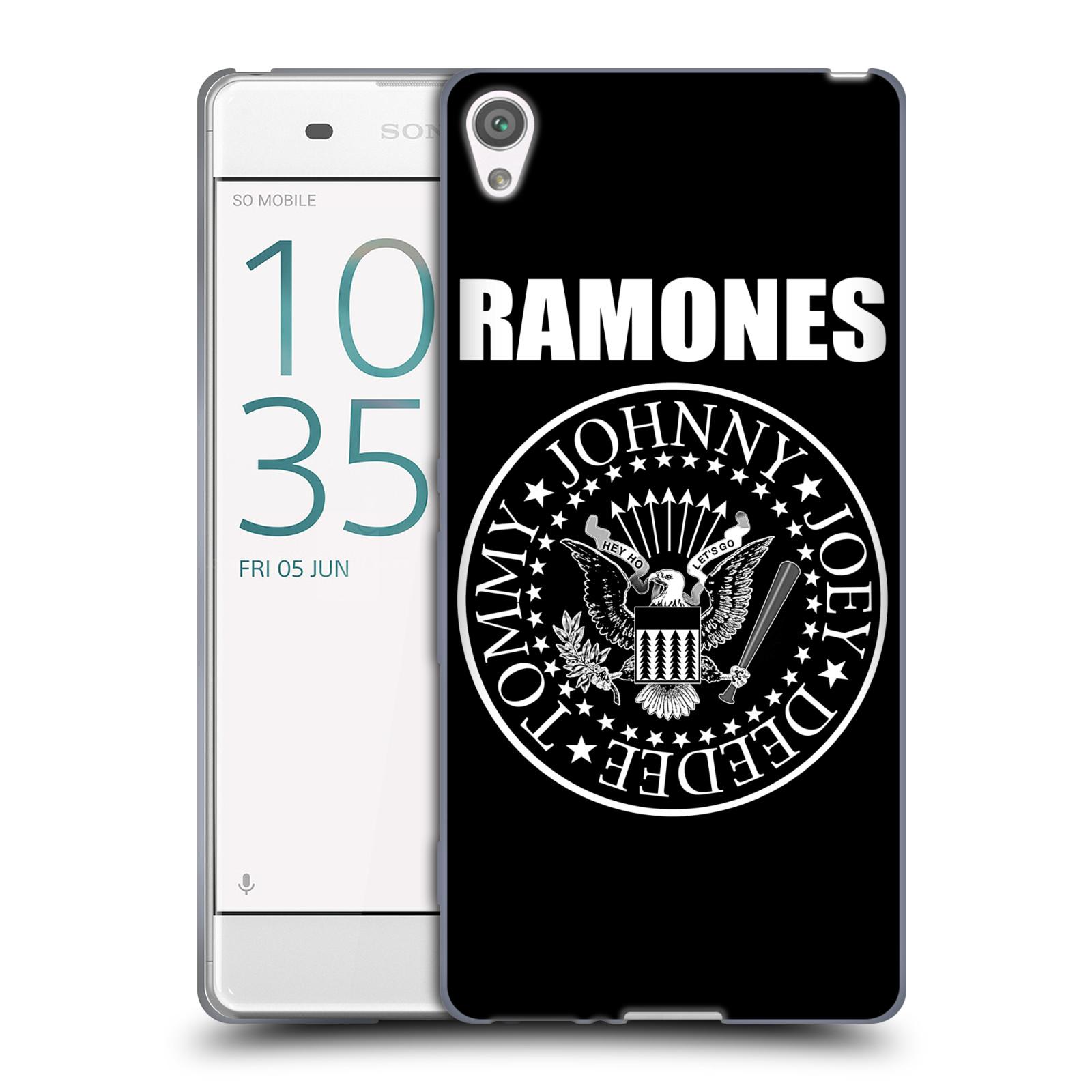 Silikonové pouzdro na mobil Sony Xperia XA HEAD CASE The Ramones - PRESIDENTIAL SEAL