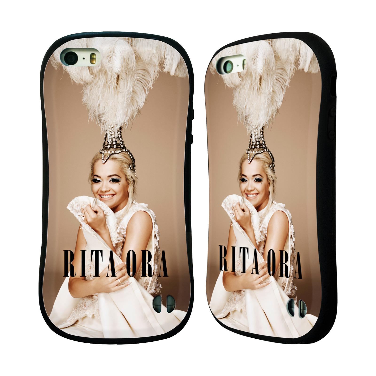 HEAD CASE silikon/plast odolný obal na mobil Apple Iphone 5 / 5S Rita Ora čelenka z peří