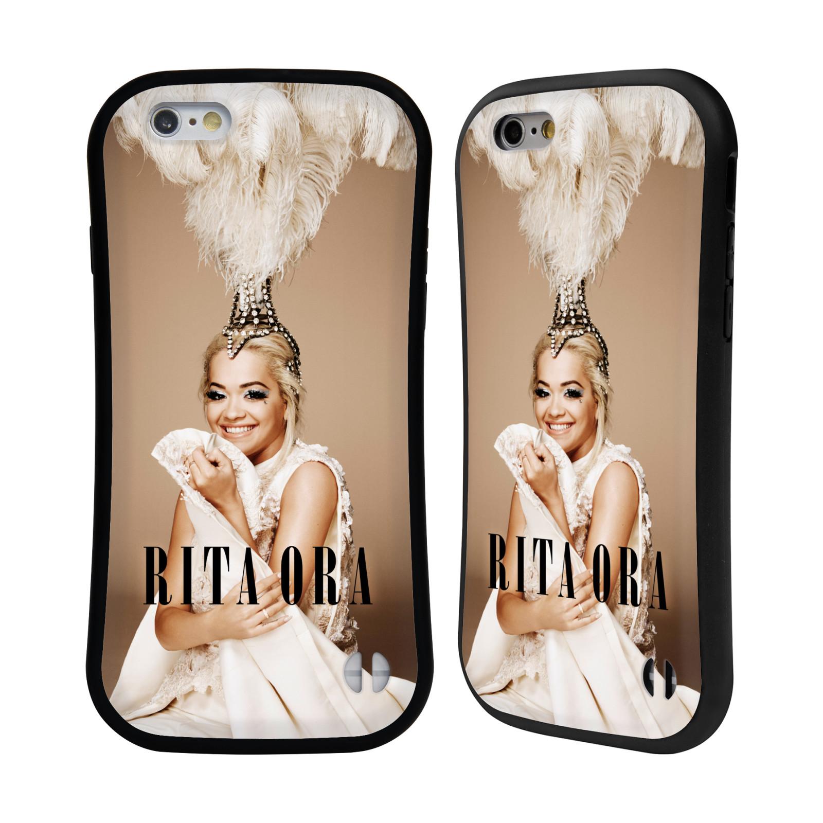 HEAD CASE silikon/plast odolný obal na mobil Apple Iphone 6/6S Rita Ora čelenka z peří