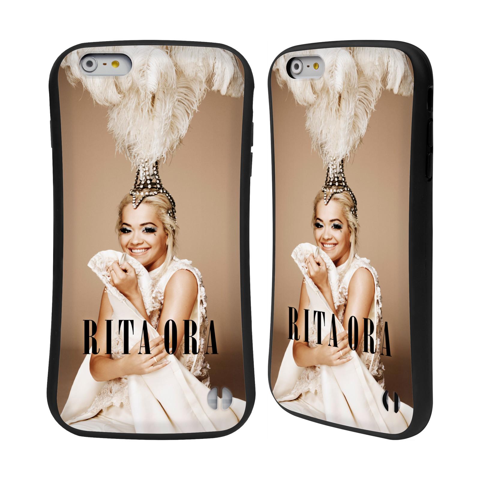 HEAD CASE silikon/plast odolný obal na mobil Apple Iphone 6 PLUS / 6S PLUS Rita Ora čelenka z peří