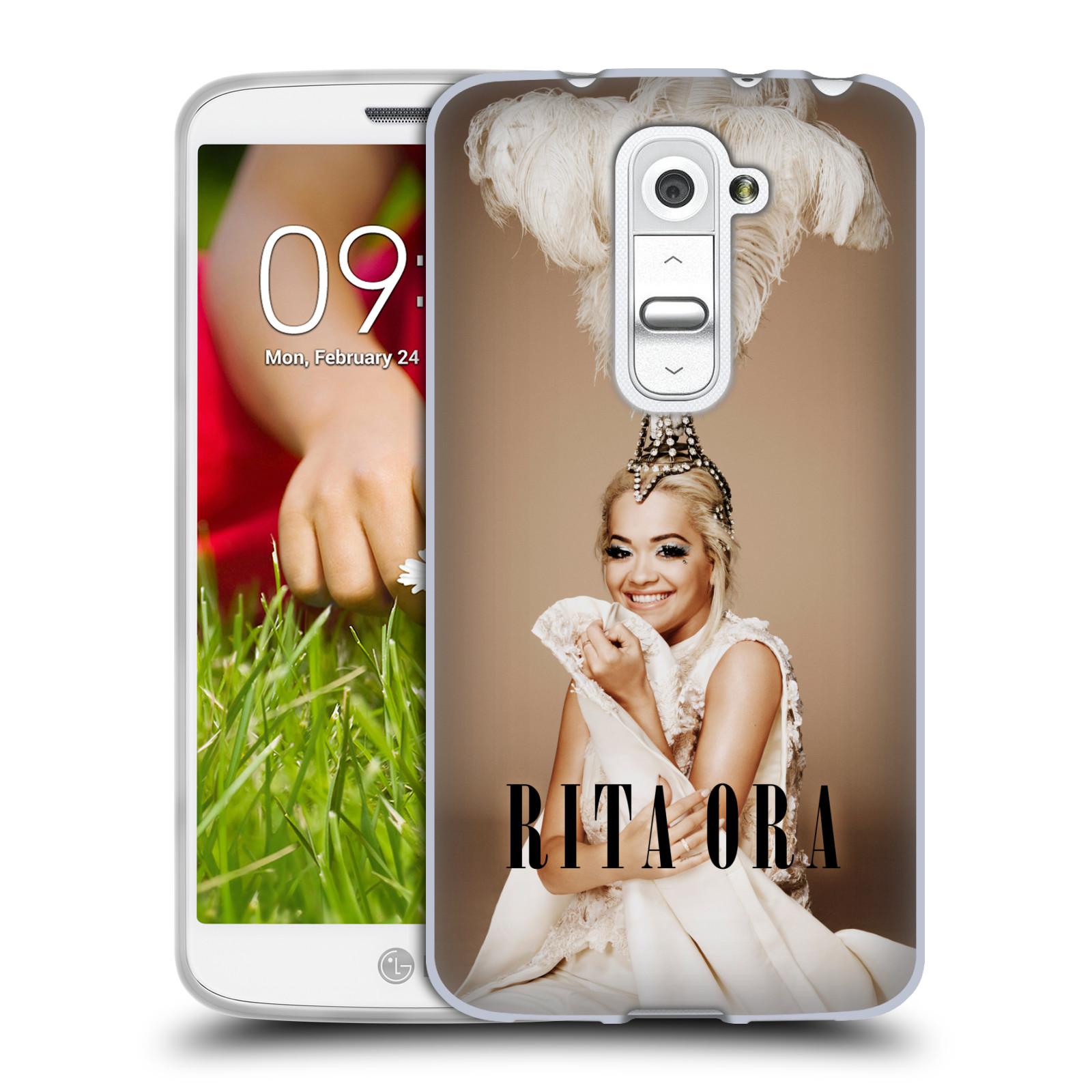 HEAD CASE silikonový obal na mobil LG G2 MINI (D618) zpěvačka Rita Ora peří