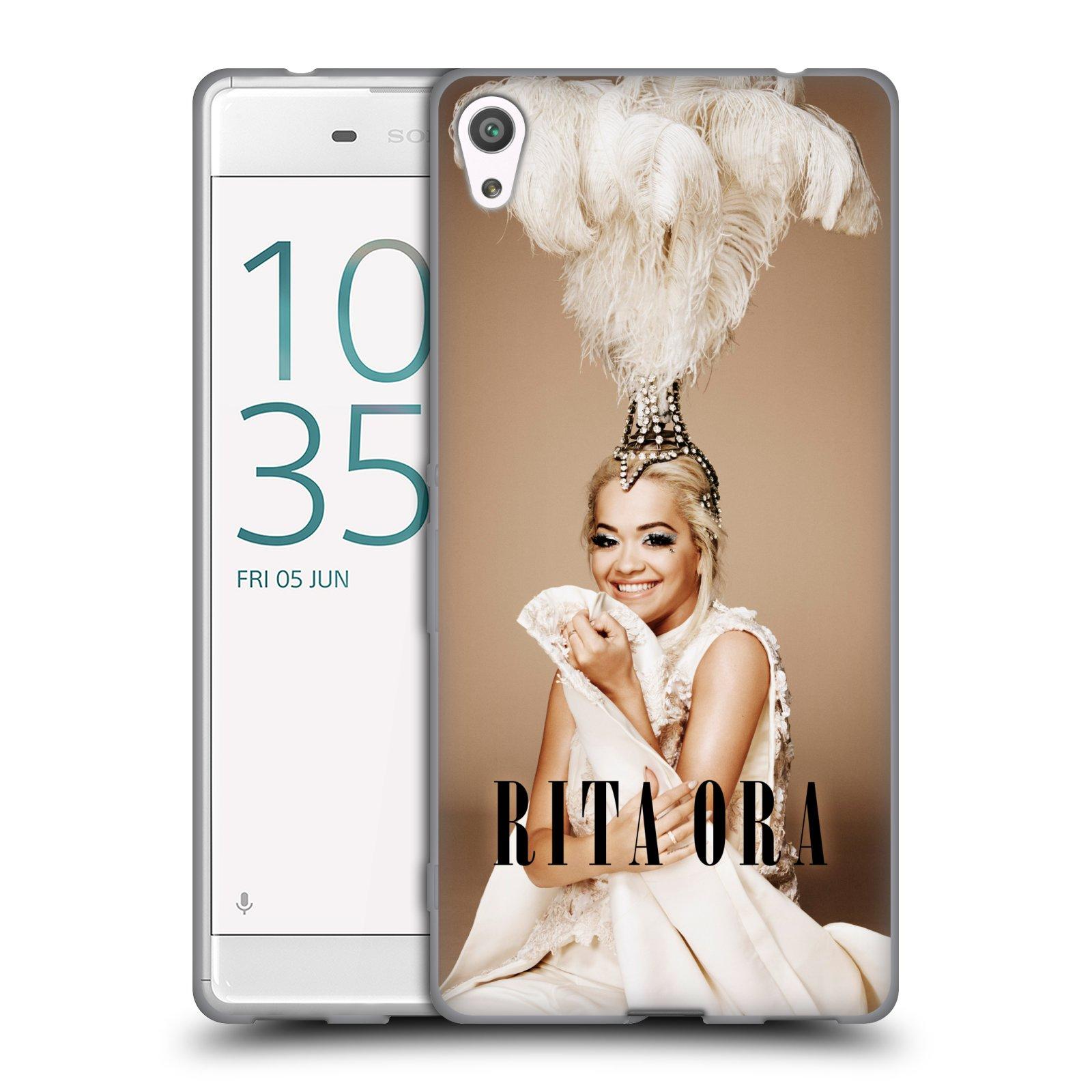 HEAD CASE silikonový obal na mobil Sony Xperia XA ULTRA zpěvačka Rita Ora peří