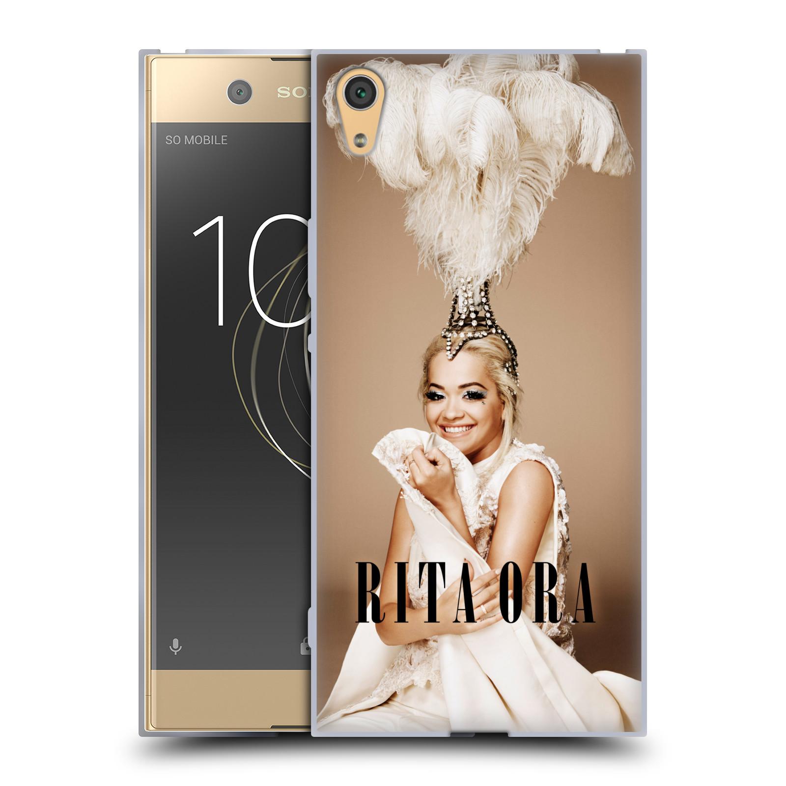 HEAD CASE silikonový obal na mobil Sony Xperia XA1 ULTRA zpěvačka Rita Ora peří