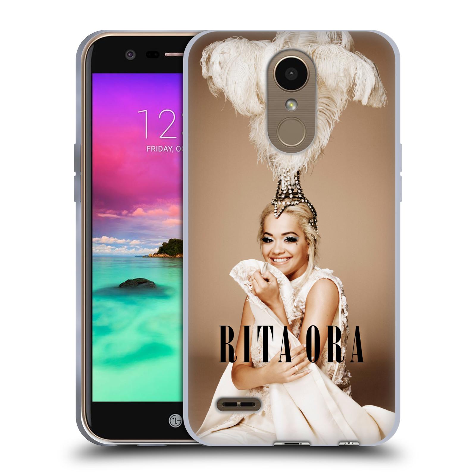 HEAD CASE silikonový obal na mobil LG K10 2017 / K10 2017 DUAL SIM zpěvačka Rita Ora peří