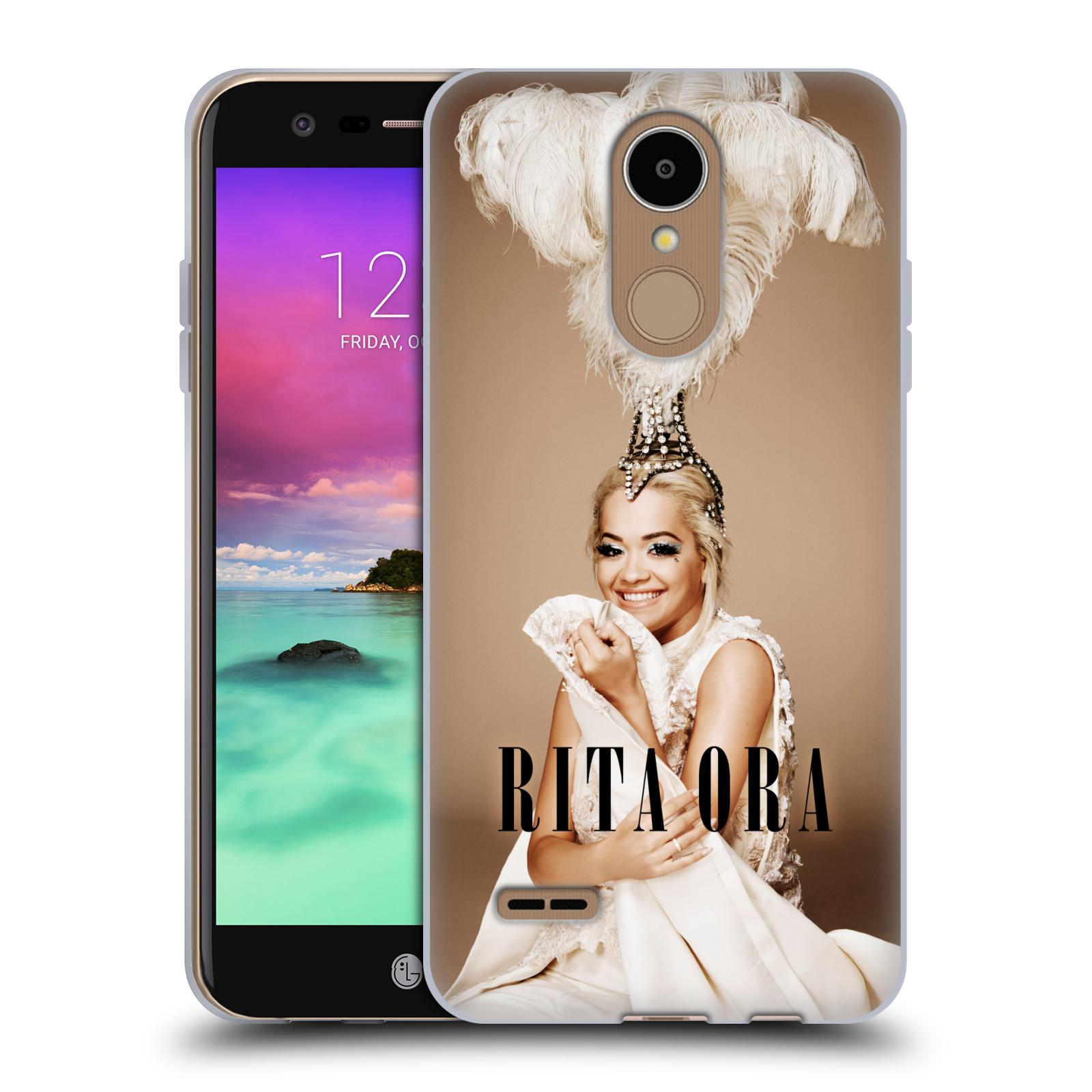 HEAD CASE silikonový obal na mobil LG K8 2017 / M200E, M200N zpěvačka Rita Ora peří