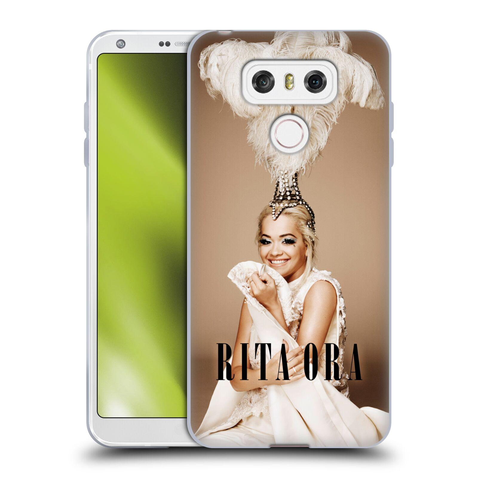 HEAD CASE silikonový obal na mobil LG G6 / G6 DUAL zpěvačka Rita Ora peří