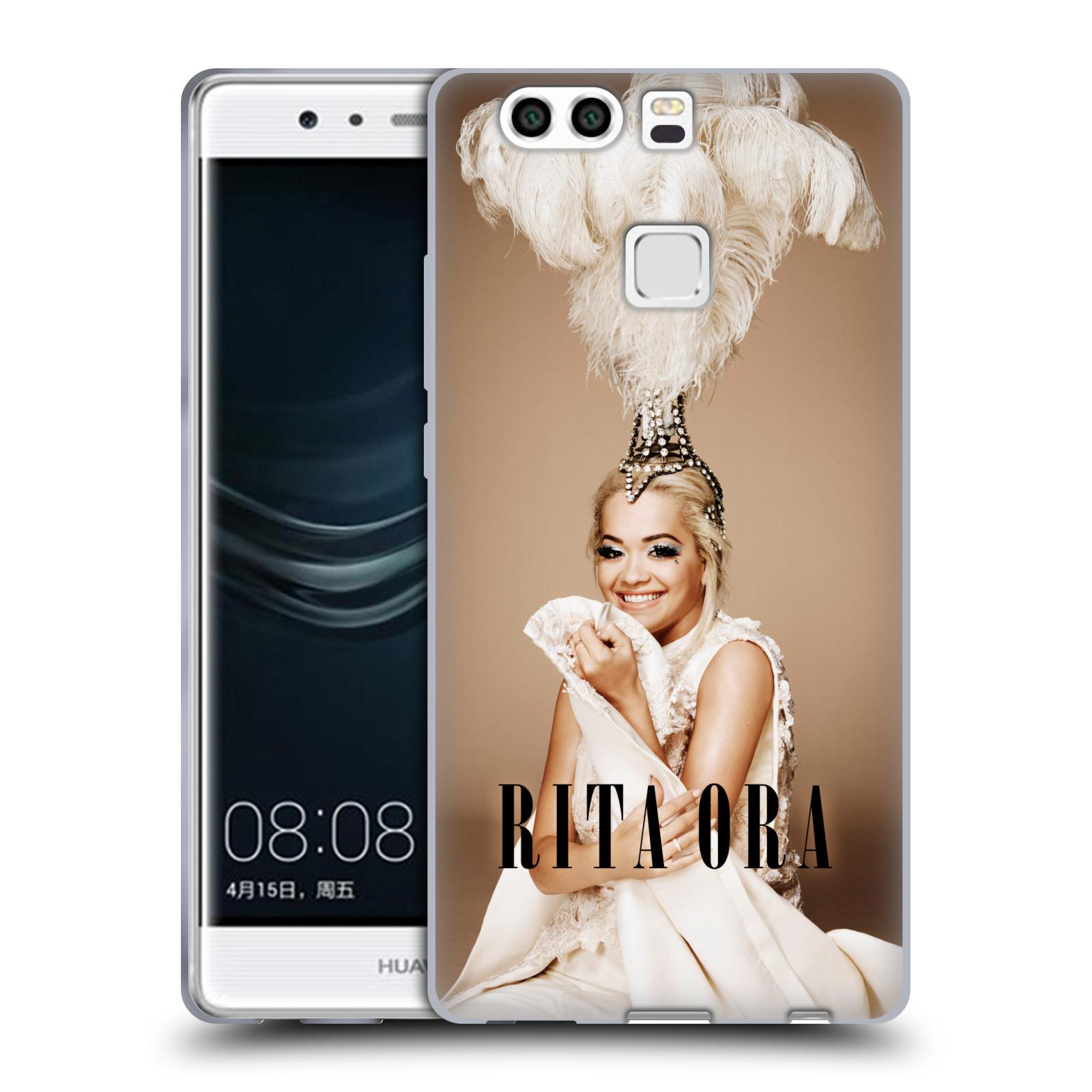 HEAD CASE silikonový obal na mobil Huawei P9 PLUS / P9 PLUS DUAL SIM zpěvačka Rita Ora peří