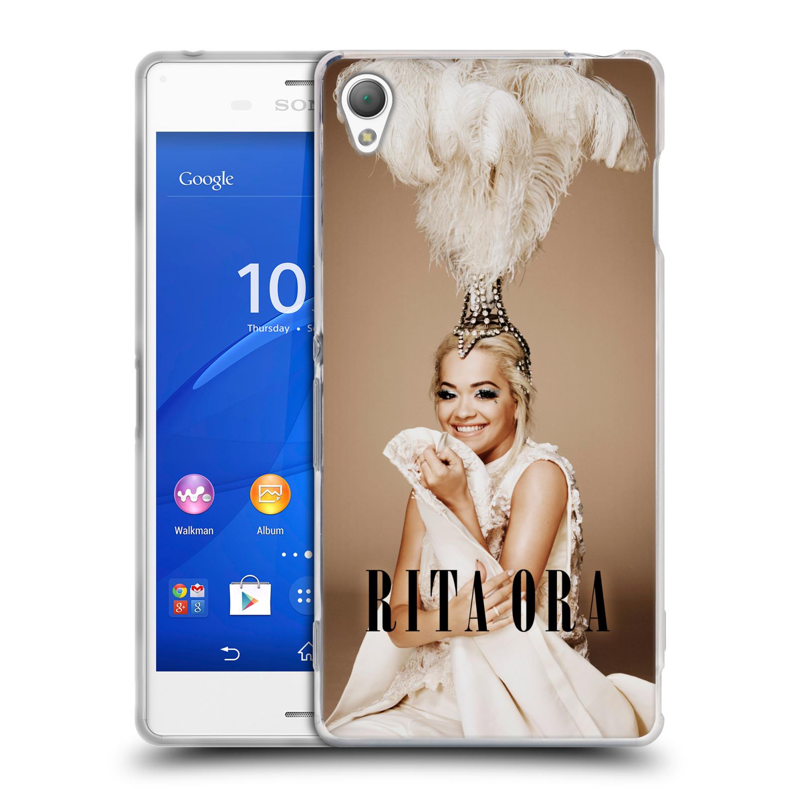 HEAD CASE silikonový obal na mobil Sony Xperia Z3 zpěvačka Rita Ora peří