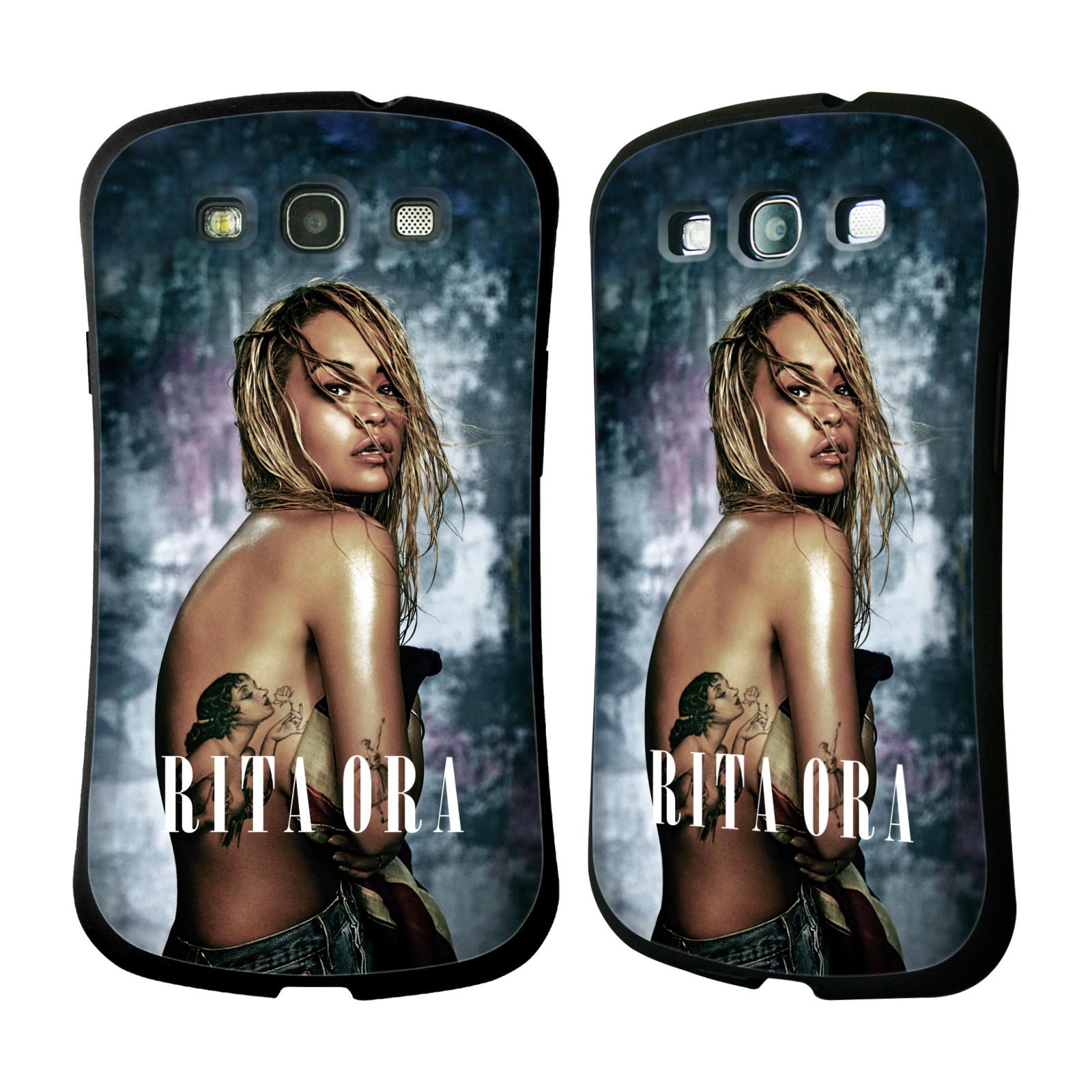 HEAD CASE silikon/plast odolný obal na mobil Samsung Galaxy S3 i9300 / S3 NEO Rita Ora Tetování dívka