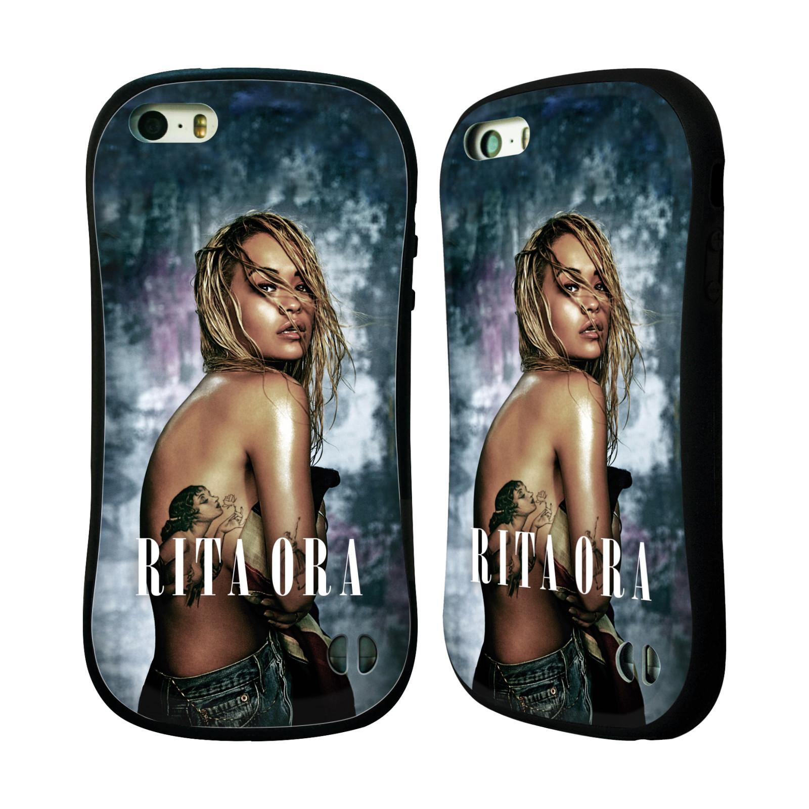 HEAD CASE silikon/plast odolný obal na mobil Apple Iphone 5 / 5S Rita Ora Tetování dívka