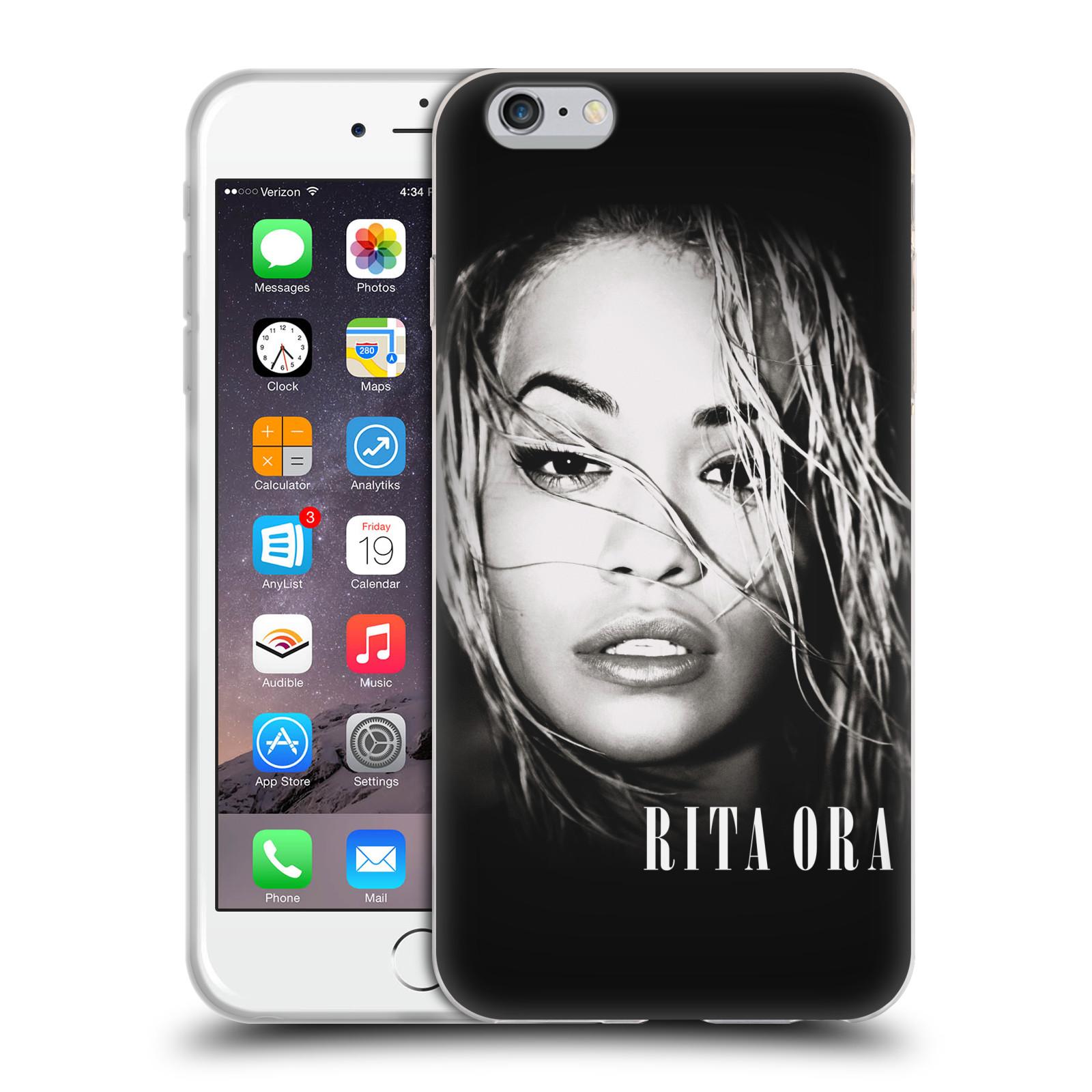 HEAD CASE silikonový obal na mobil Apple Iphone 6/6S PLUS zpěvačka Rita Ora foto tvář