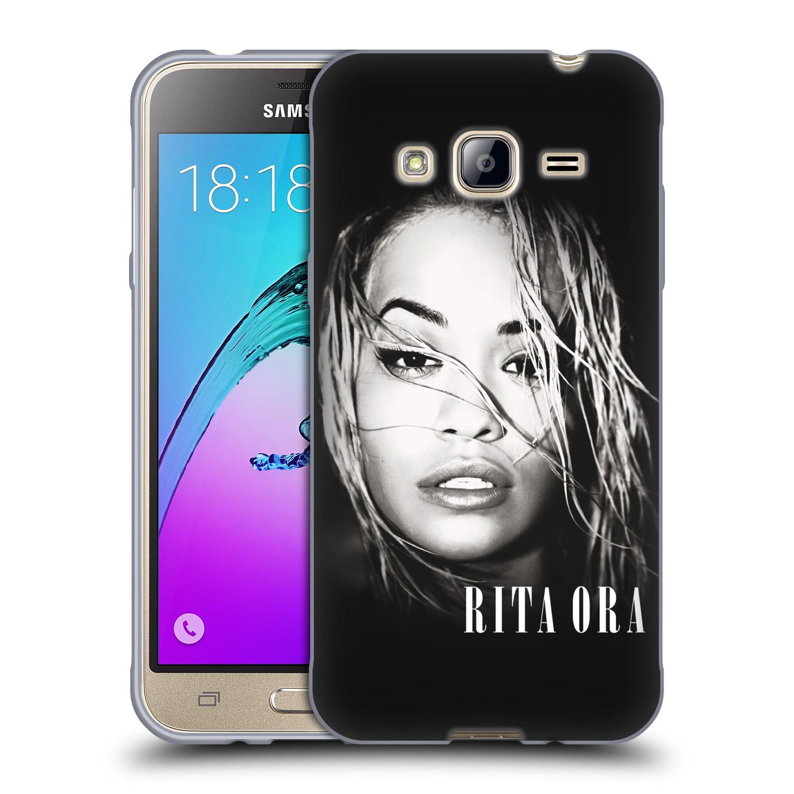 HEAD CASE silikonový obal na mobil Samsung Galaxy J3, J3 2016 zpěvačka Rita Ora foto tvář