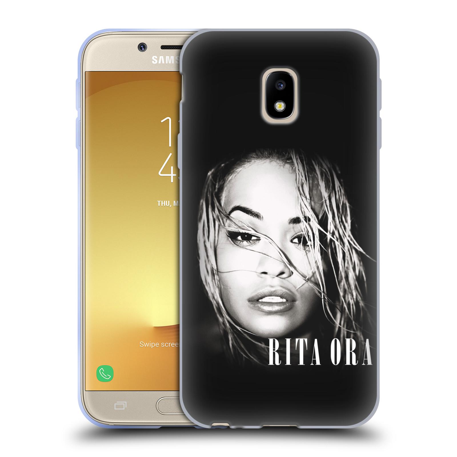 HEAD CASE silikonový obal na mobil Samsung Galaxy J3 2017 (J330, J330F) zpěvačka Rita Ora foto tvář