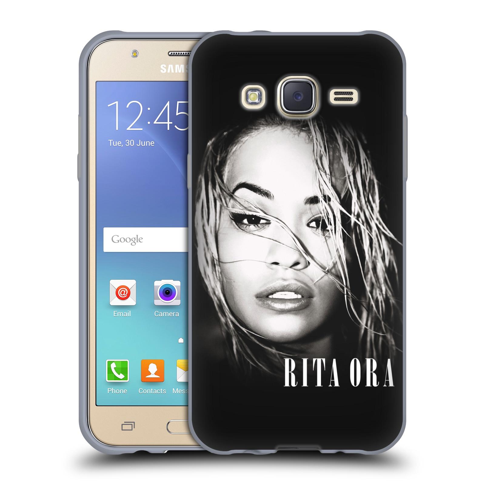 HEAD CASE silikonový obal na mobil Samsung Galaxy J5 2015 (J500) zpěvačka Rita Ora foto tvář