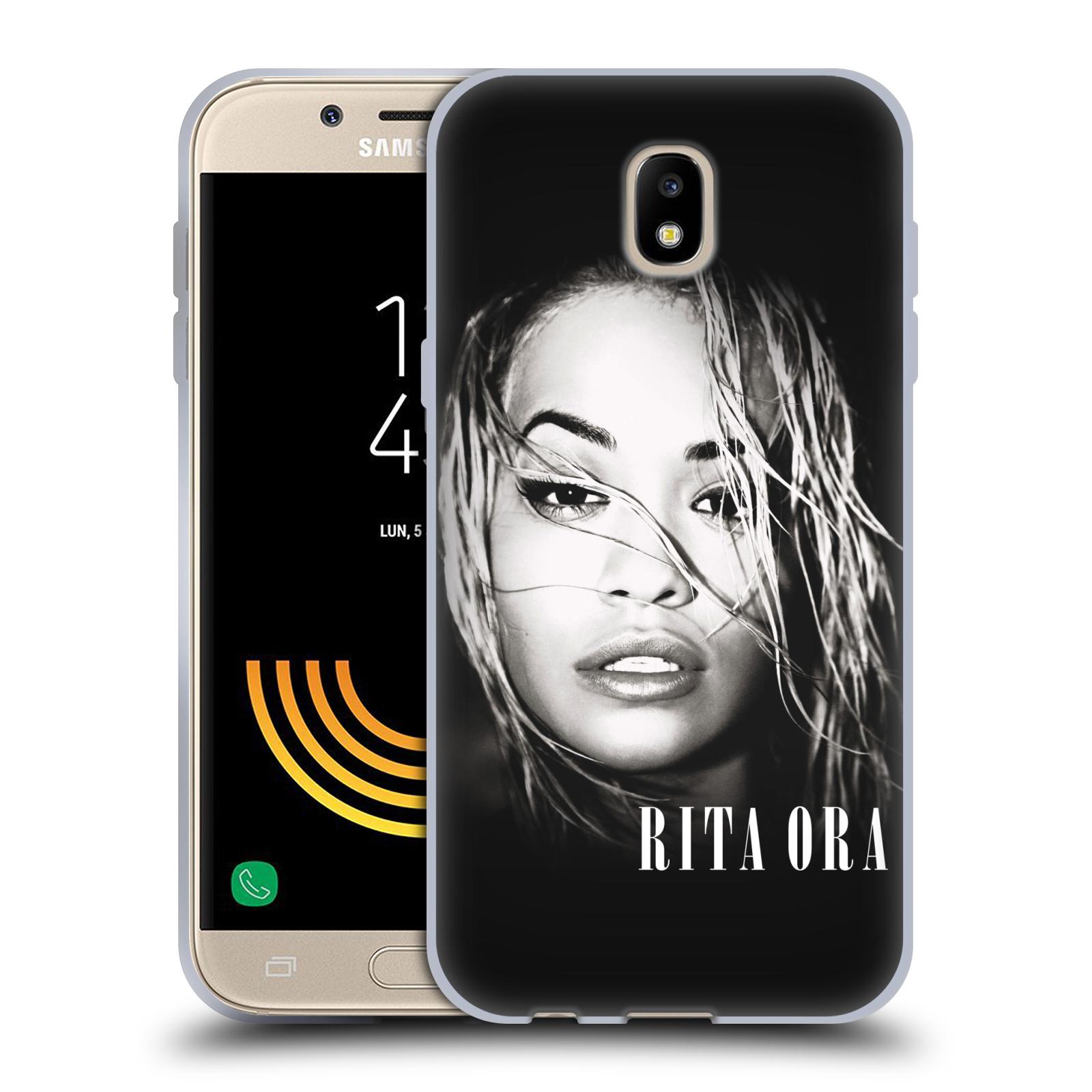HEAD CASE silikonový obal na mobil Samsung Galaxy J5 2017 zpěvačka Rita Ora foto tvář