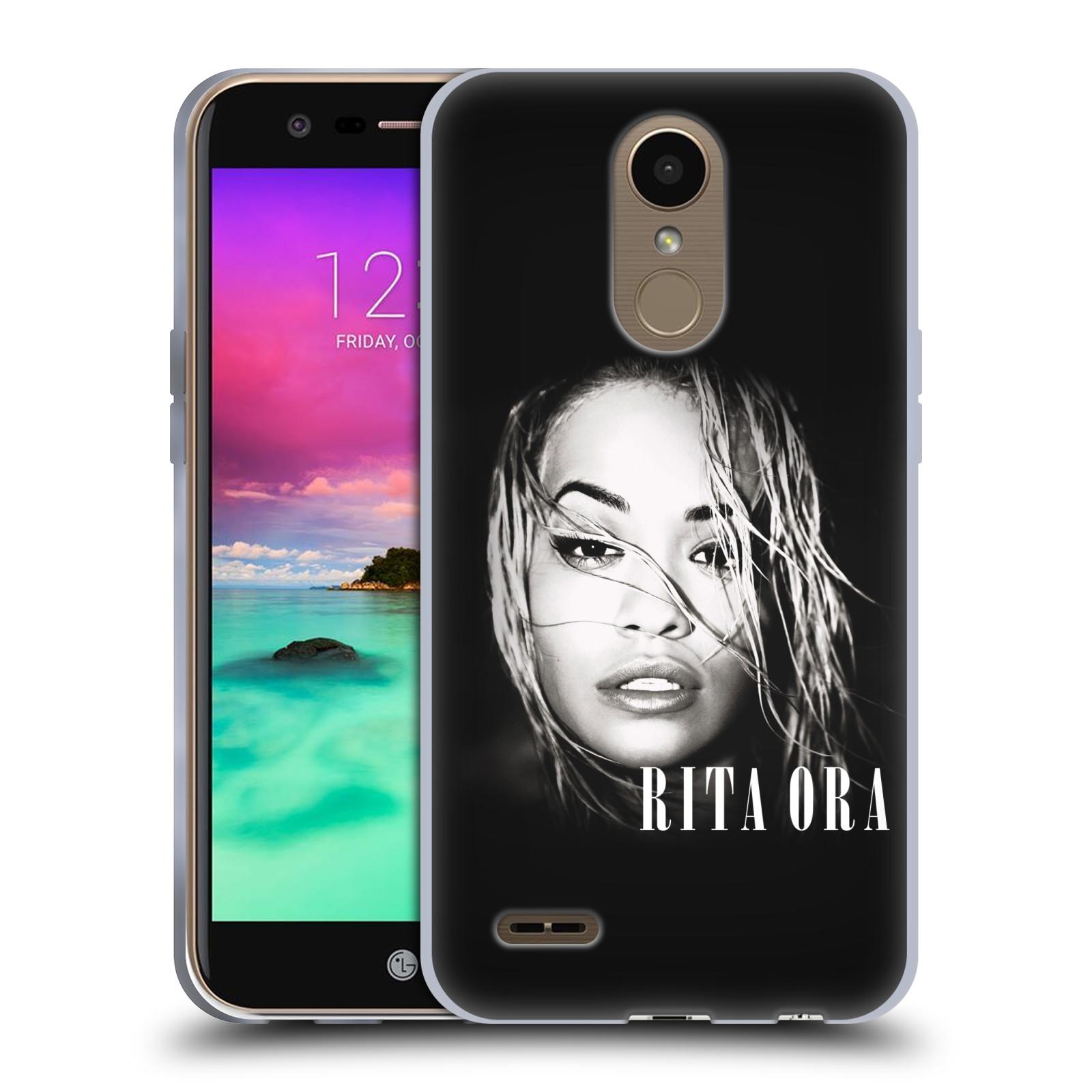 HEAD CASE silikonový obal na mobil LG K10 2017 / K10 2017 DUAL SIM zpěvačka Rita Ora foto tvář