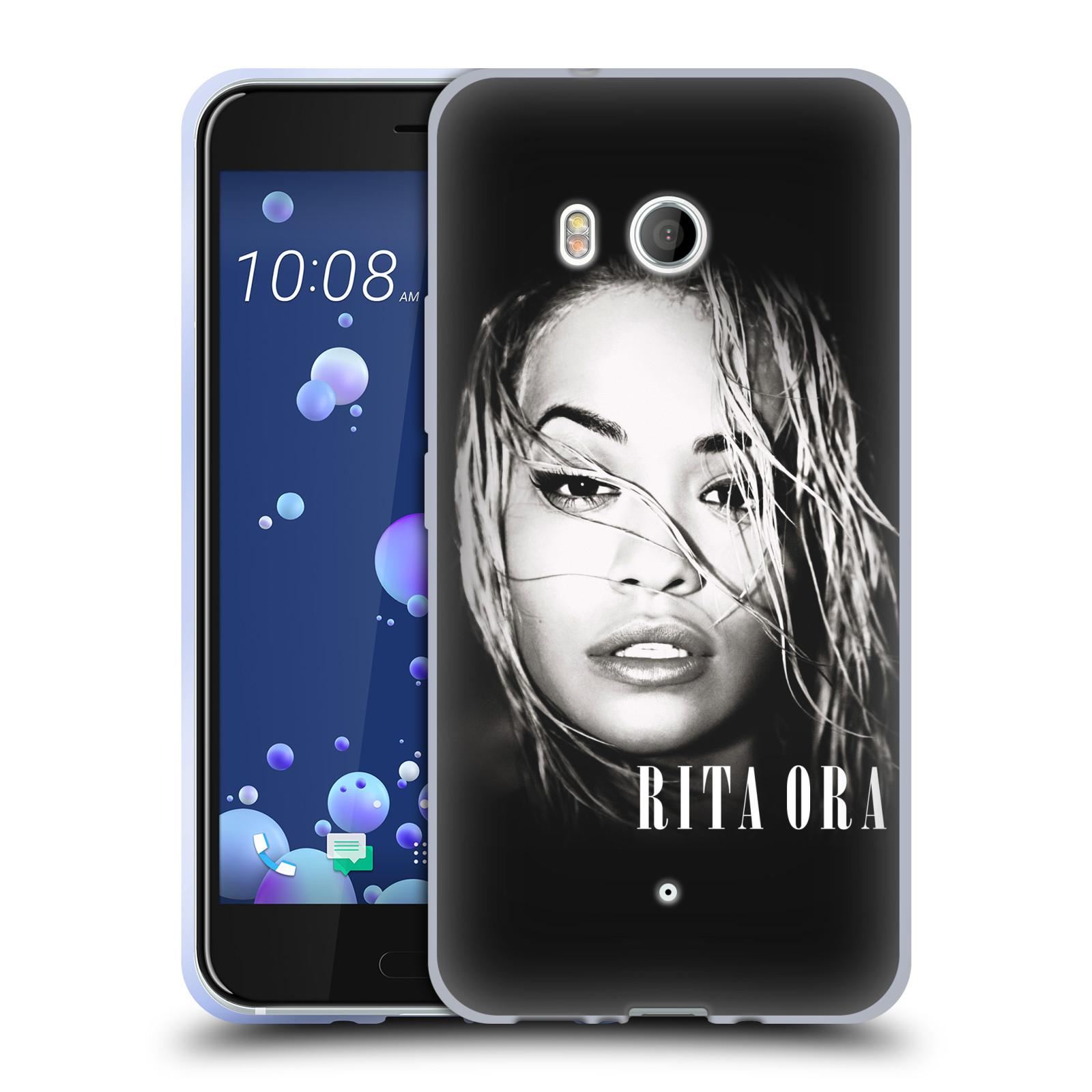 HEAD CASE silikonový obal na mobil HTC U11 / HTC U11 DUAL SIM zpěvačka Rita Ora foto tvář