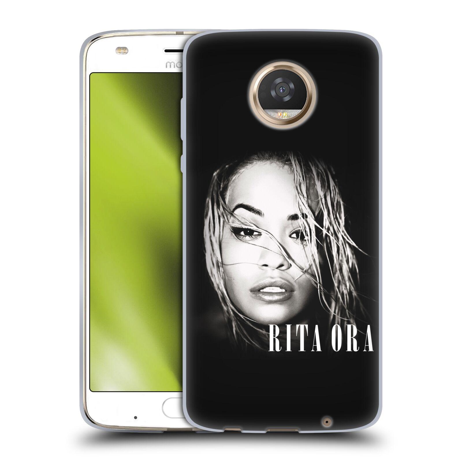 HEAD CASE silikonový obal na mobil Motorola Moto Z2 PLAY zpěvačka Rita Ora foto tvář