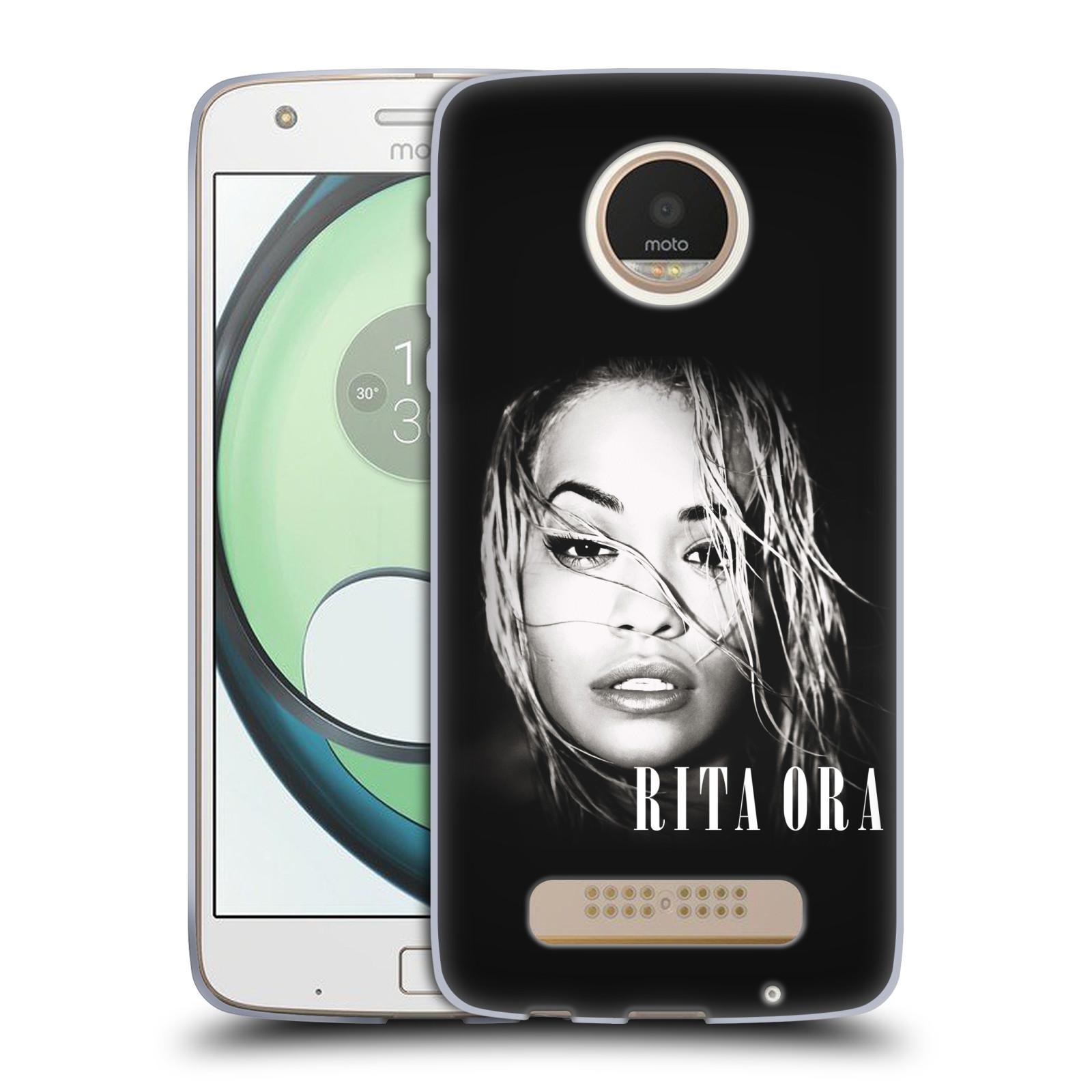 HEAD CASE silikonový obal na mobil Lenovo Moto Z PLAY zpěvačka Rita Ora foto tvář