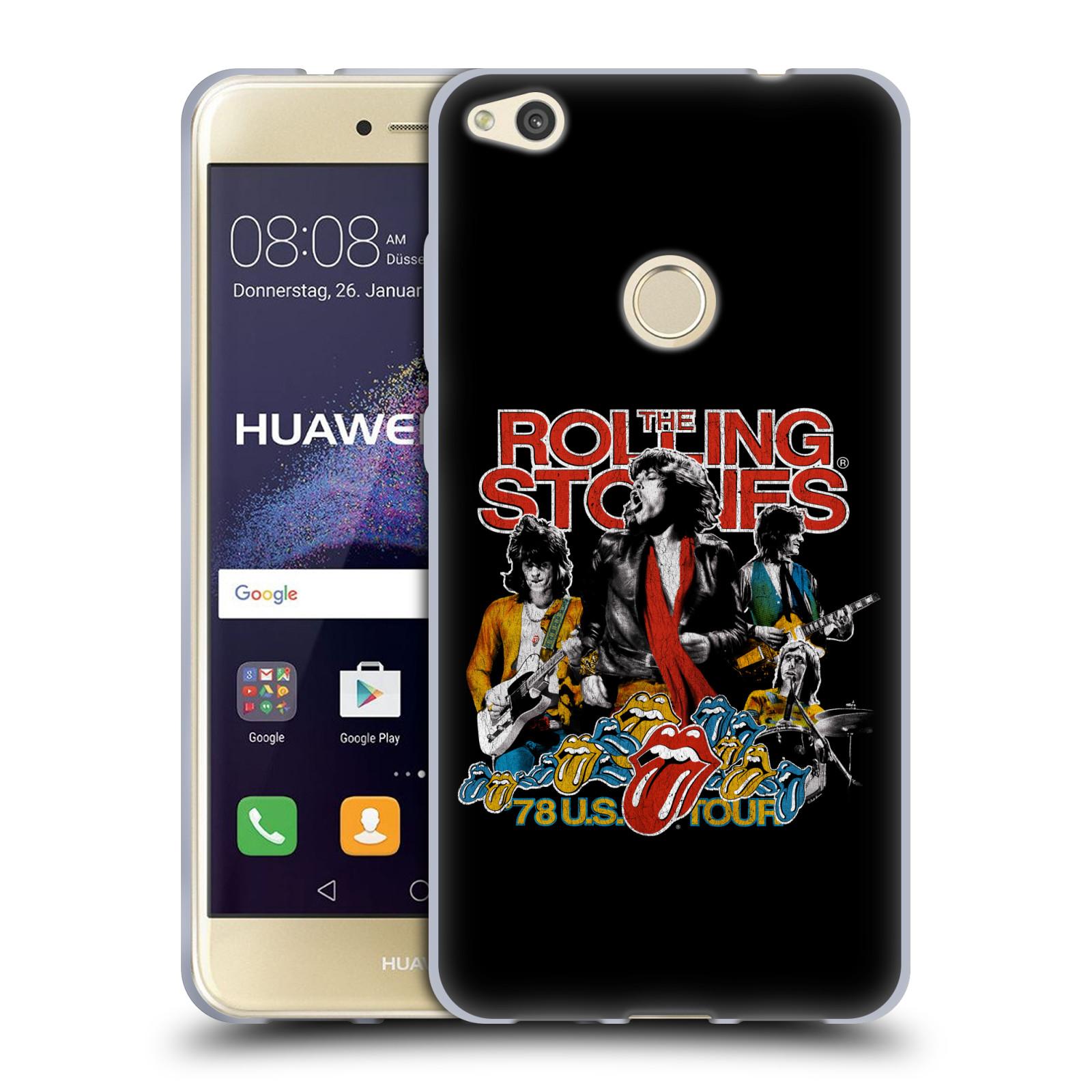 HEAD CASE silikonový obal na mobil Huawei P9 LITE 2017   P9 LITE 2017 DUAL  SIM rocková skupina Rolling Stones barevný motiv 6786b80ffd2
