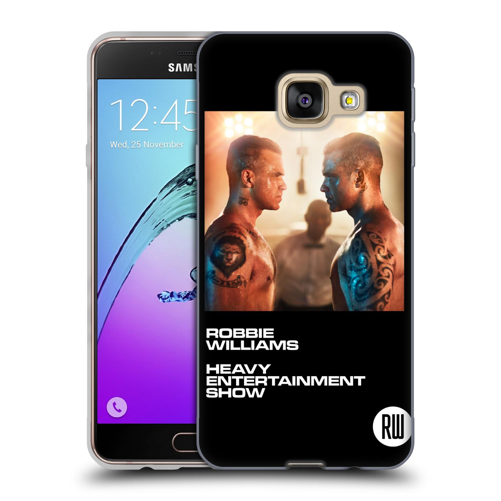HEAD CASE silikonový obal na mobil Samsung Galaxy A3 2016 (A310) zpěvák Robbie Williams souboj