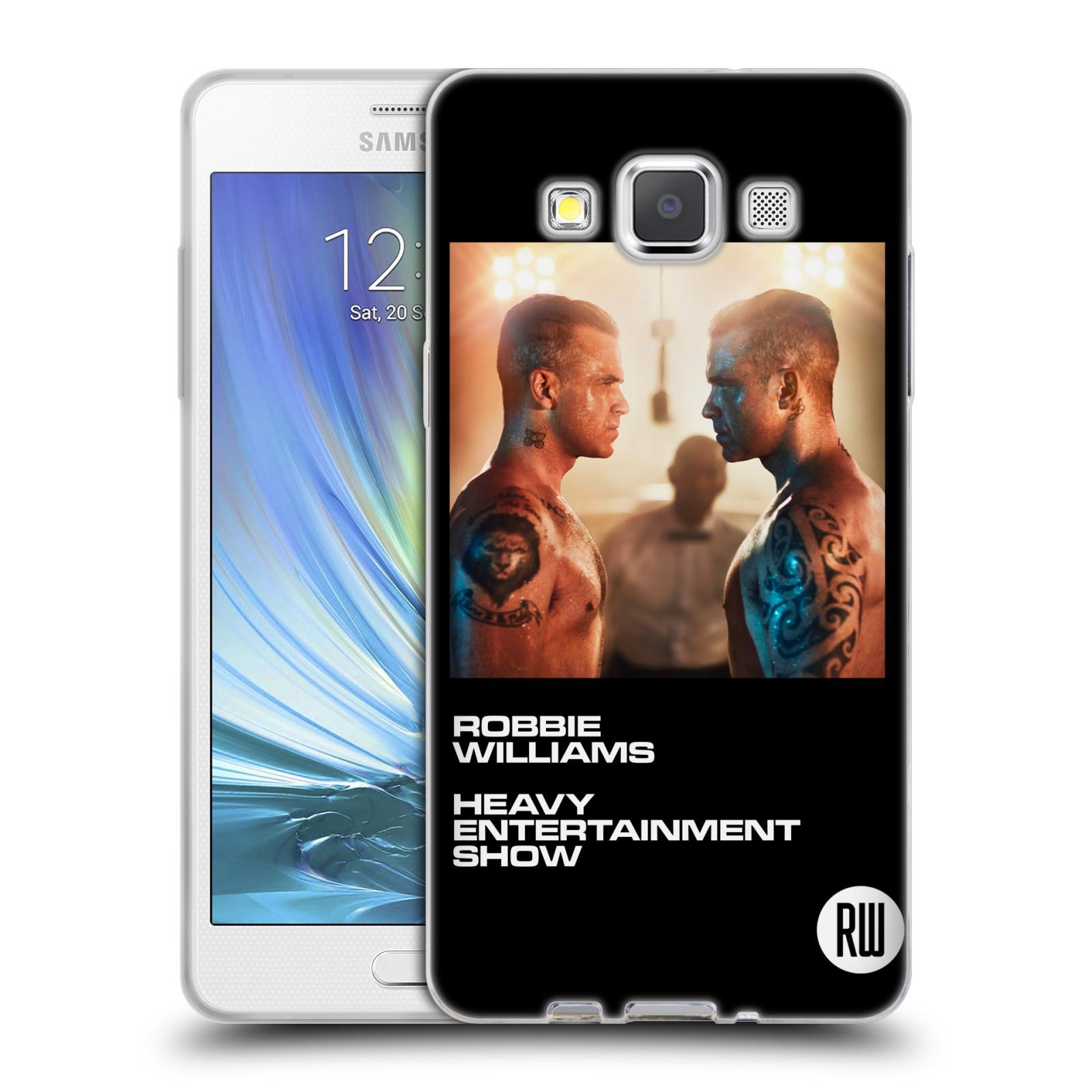 HEAD CASE silikonový obal na mobil Samsung Galaxy A5 (A500) zpěvák Robbie Williams souboj