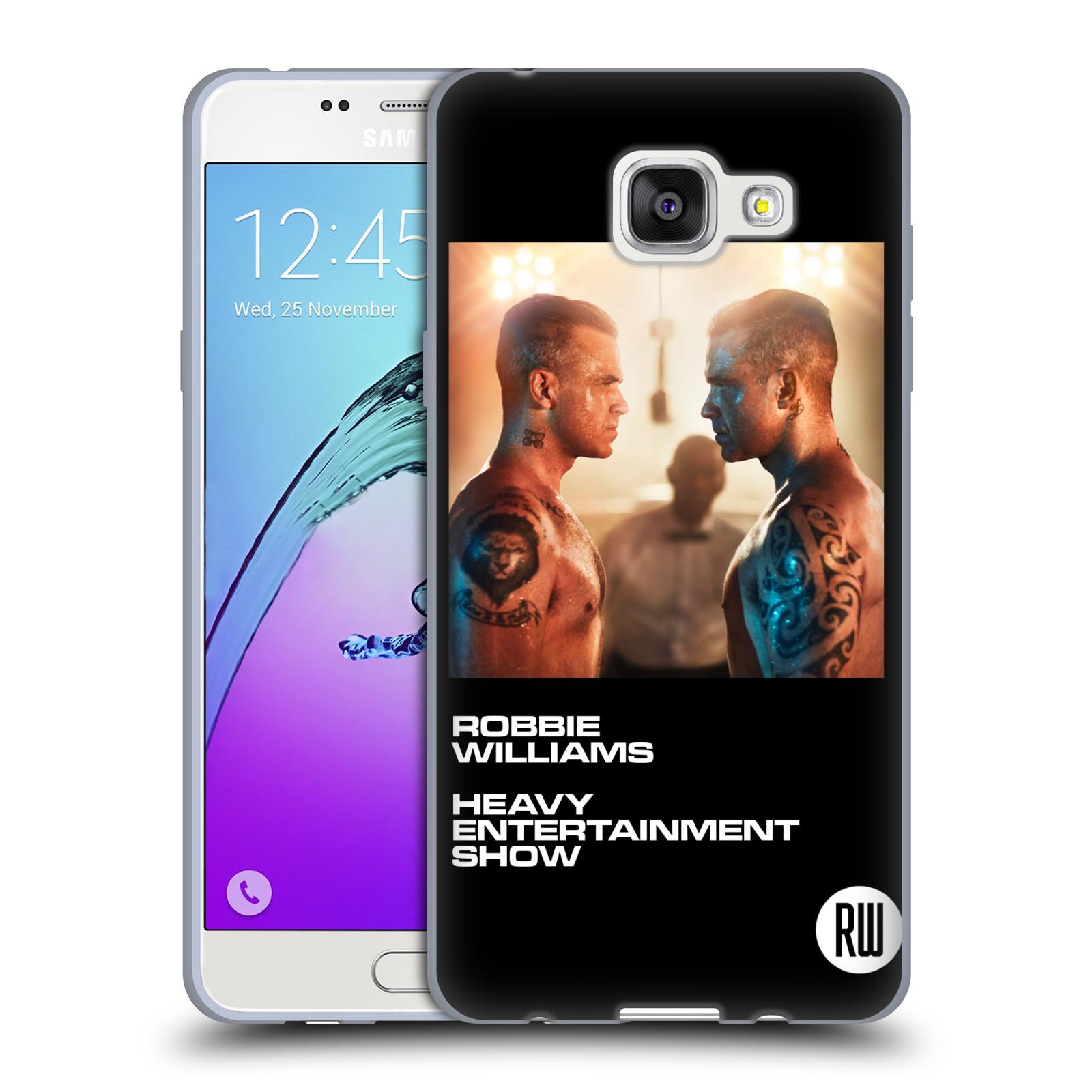 HEAD CASE silikonový obal na mobil Samsung Galaxy A5 2016 (A510) zpěvák Robbie Williams souboj