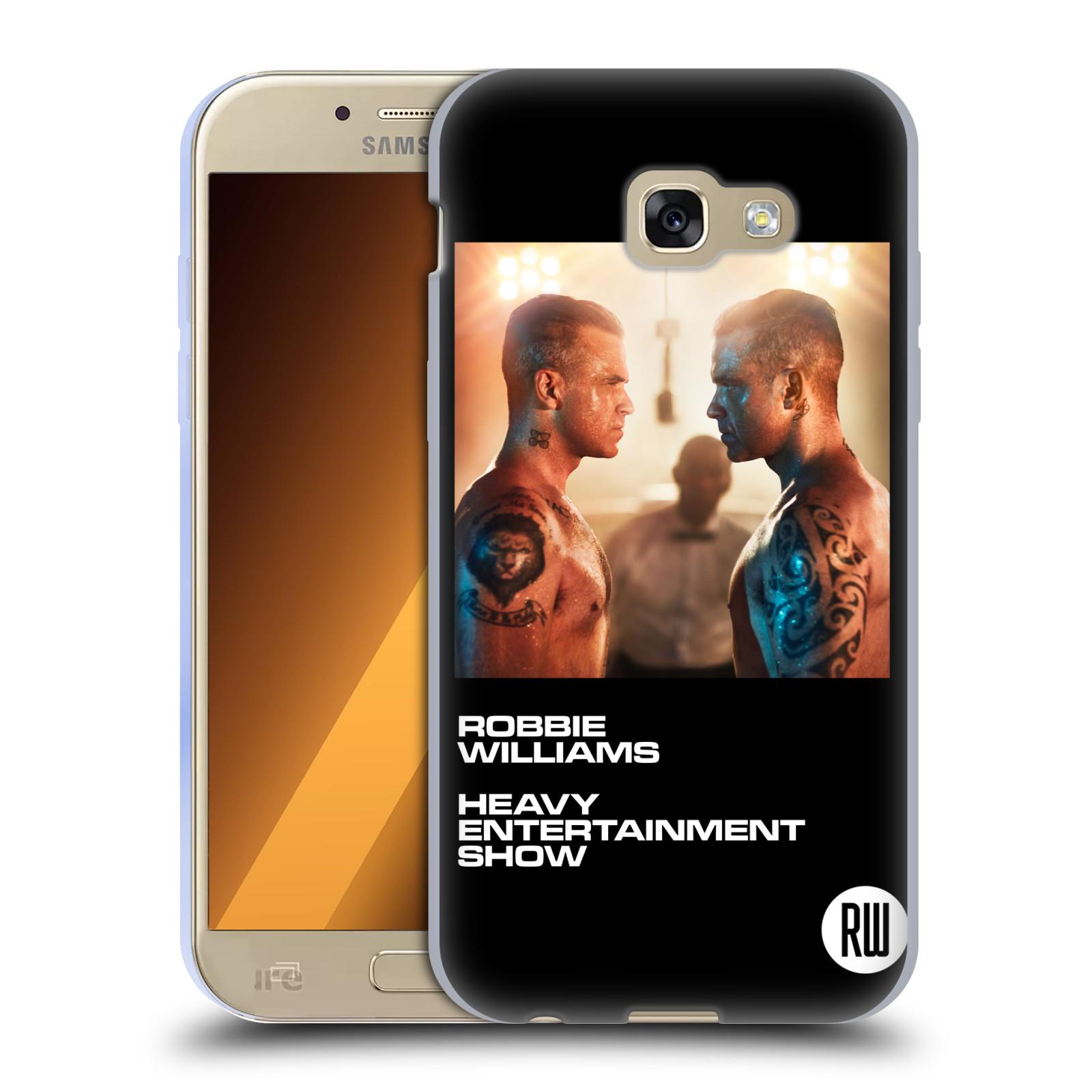 HEAD CASE silikonový obal na mobil Samsung Galaxy A5 2017 (A520) zpěvák Robbie Williams souboj