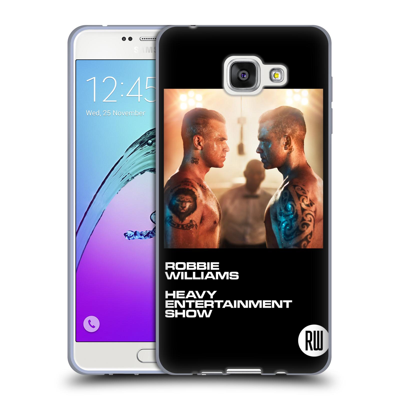 HEAD CASE silikonový obal na mobil Samsung Galaxy A7 2016 (A710) zpěvák Robbie Williams souboj