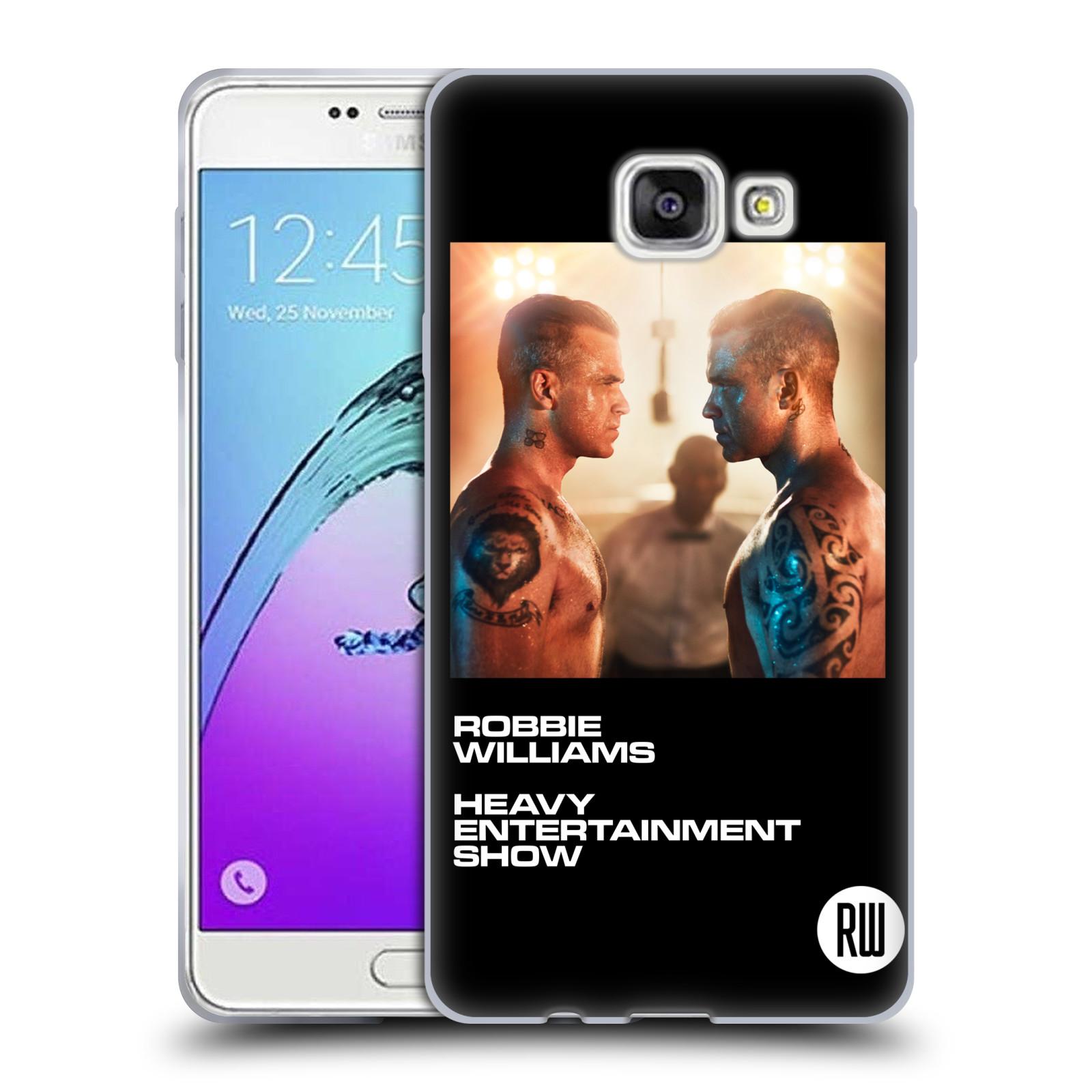 HEAD CASE silikonový obal na mobil Samsung Galaxy A7 2017 (A720) zpěvák Robbie Williams souboj