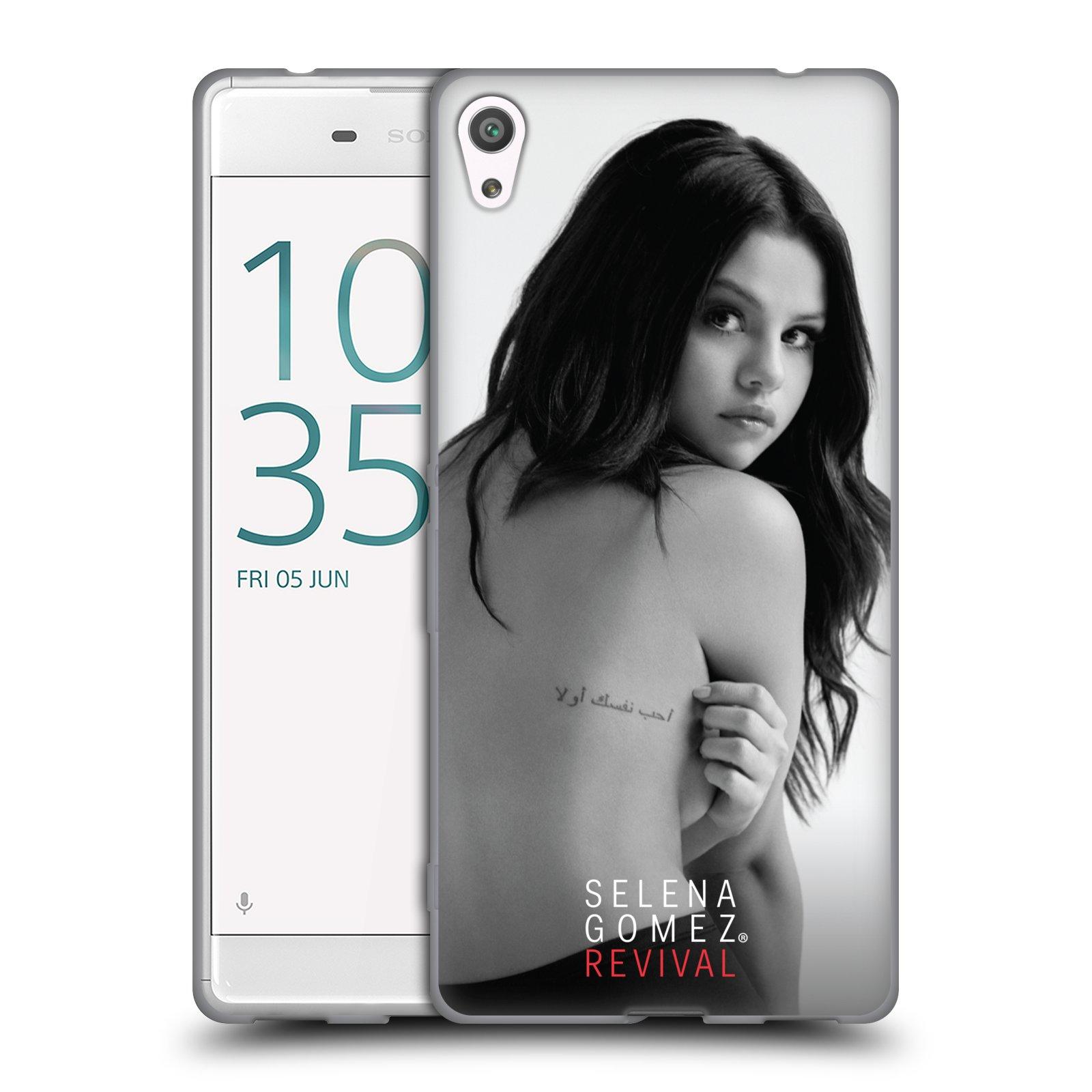 HEAD CASE silikonový obal na mobil Sony Xperia XA ULTRA Zpěvačka Selena Gomez foto Revival zadní strana