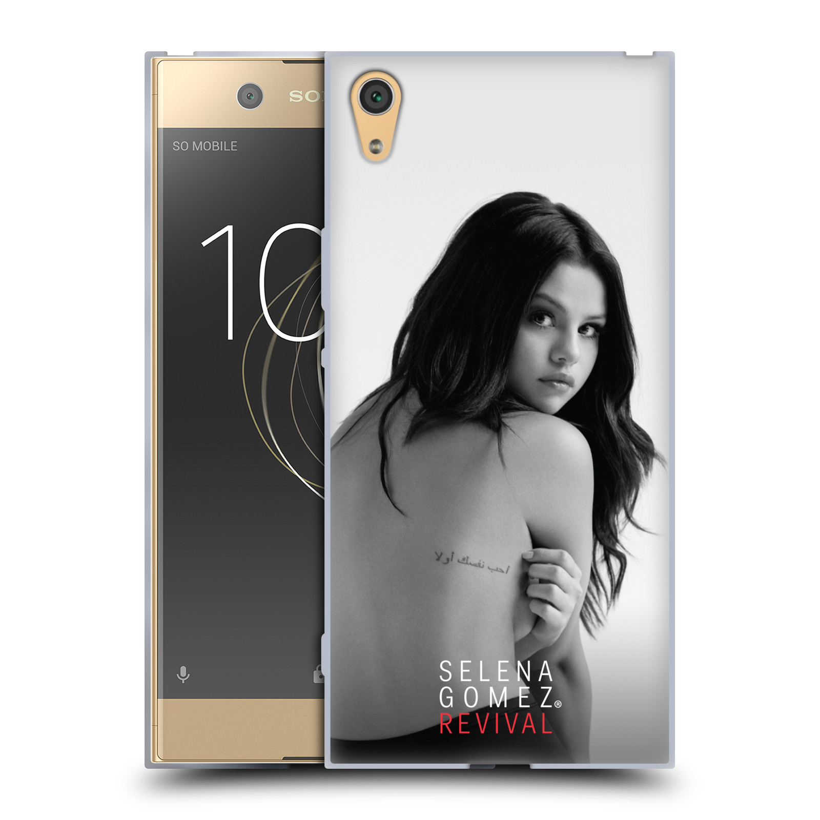 HEAD CASE silikonový obal na mobil Sony Xperia XA1 ULTRA Zpěvačka Selena Gomez foto Revival zadní strana