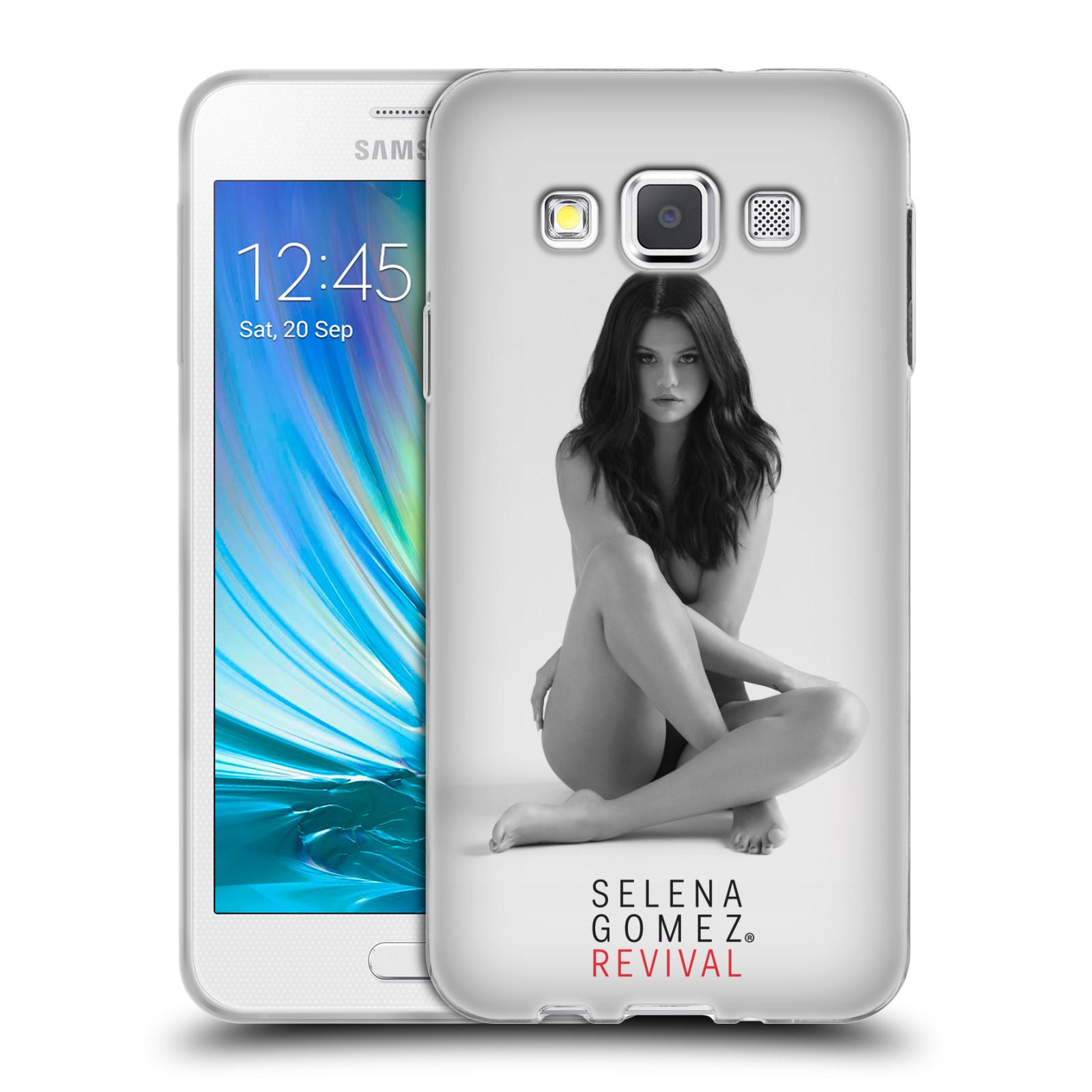 HEAD CASE silikonový obal na mobil Samsung Galaxy A3 (A300) Zpěvačka Selena Gomez foto Revival