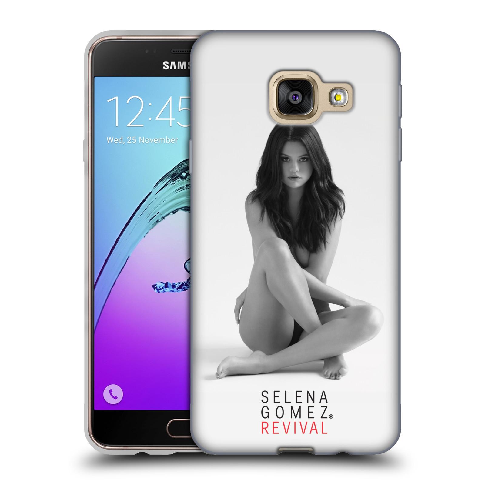 HEAD CASE silikonový obal na mobil Samsung Galaxy A3 2016 (A310) Zpěvačka Selena Gomez foto Revival