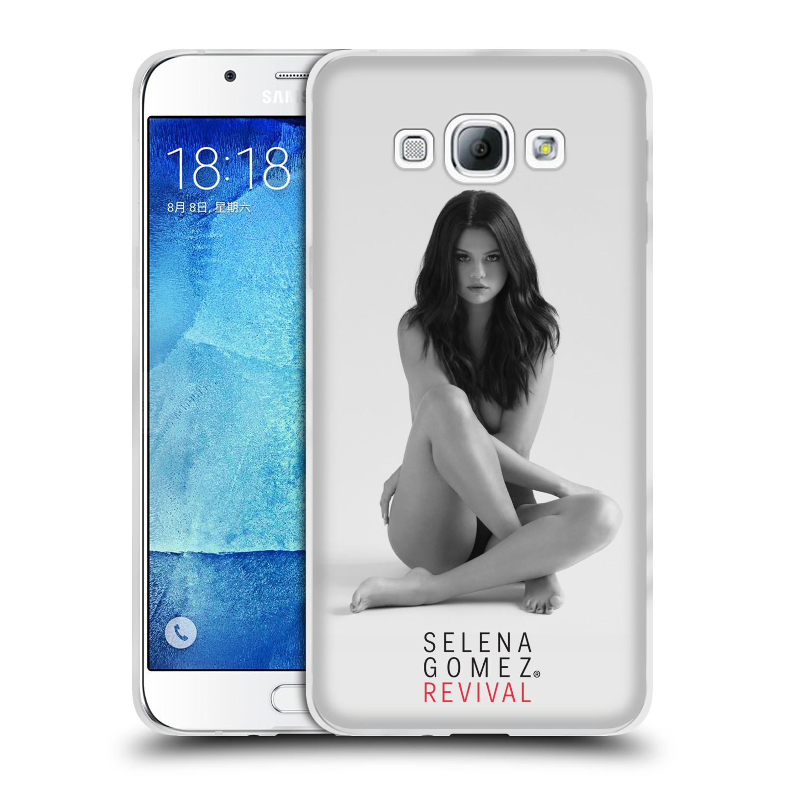 HEAD CASE silikonový obal na mobil Samsung Galaxy A8 2015 Zpěvačka Selena Gomez foto Revival