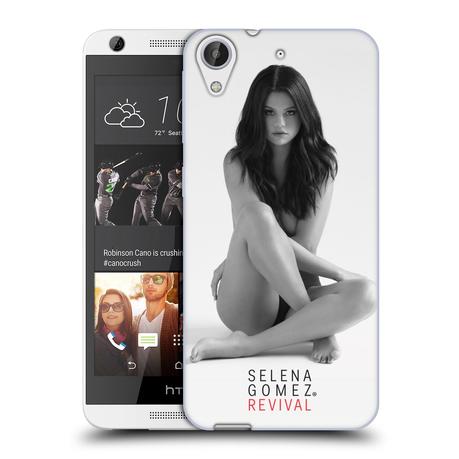 HEAD CASE silikonový obal na mobil HTC Desire 626 Zpěvačka Selena Gomez foto Revival