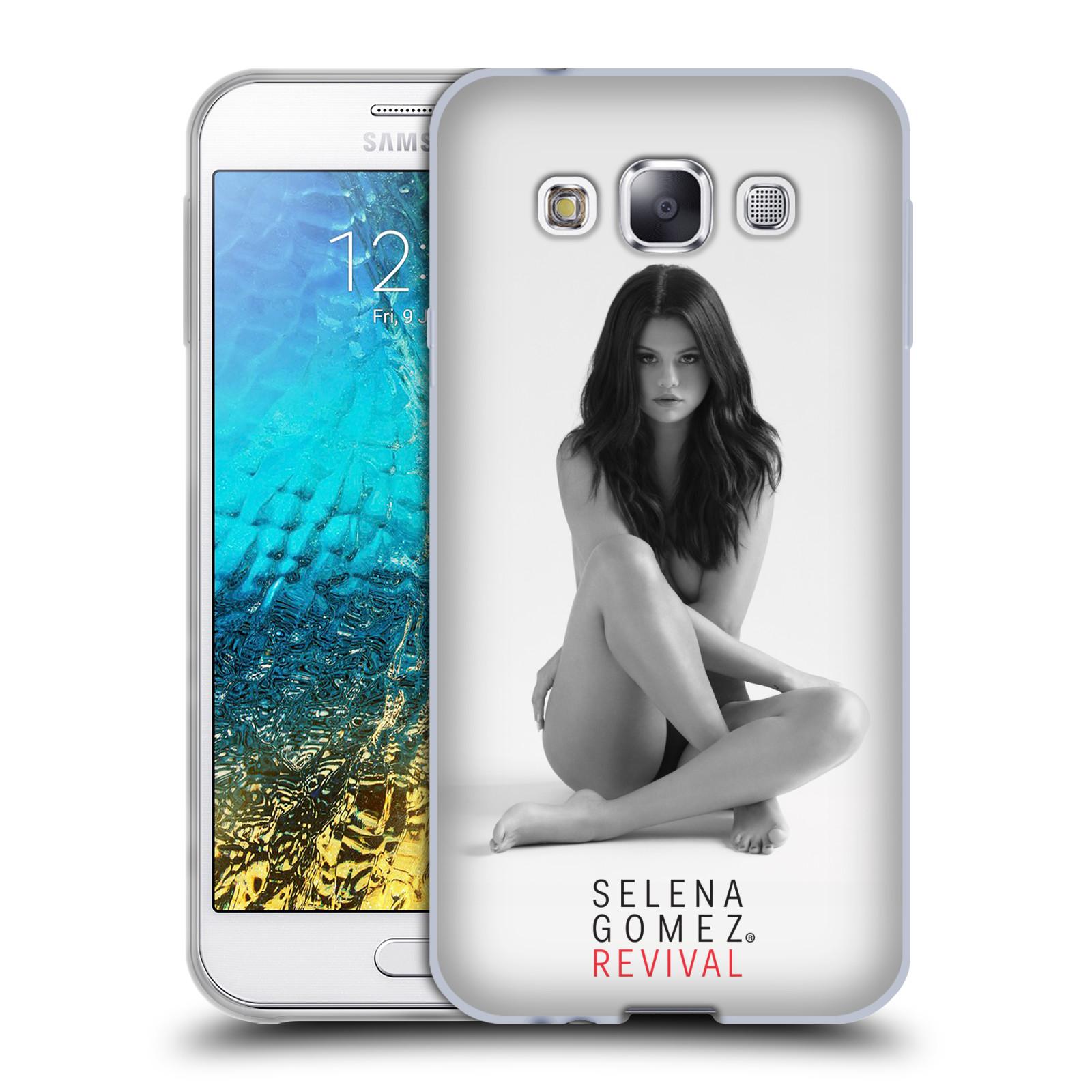 HEAD CASE silikonový obal na mobil Samsung Galaxy E5 Zpěvačka Selena Gomez foto Revival