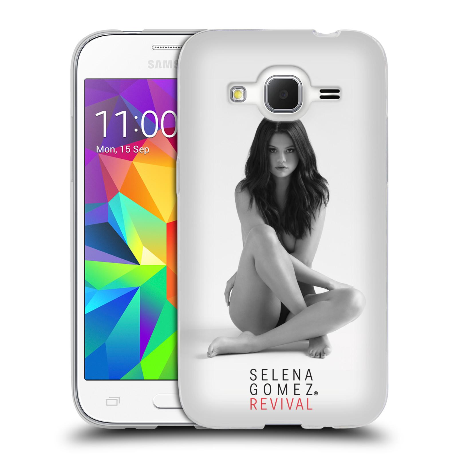 HEAD CASE silikonový obal na mobil Samsung Galaxy Core Prime (G360) Zpěvačka Selena Gomez foto Revival