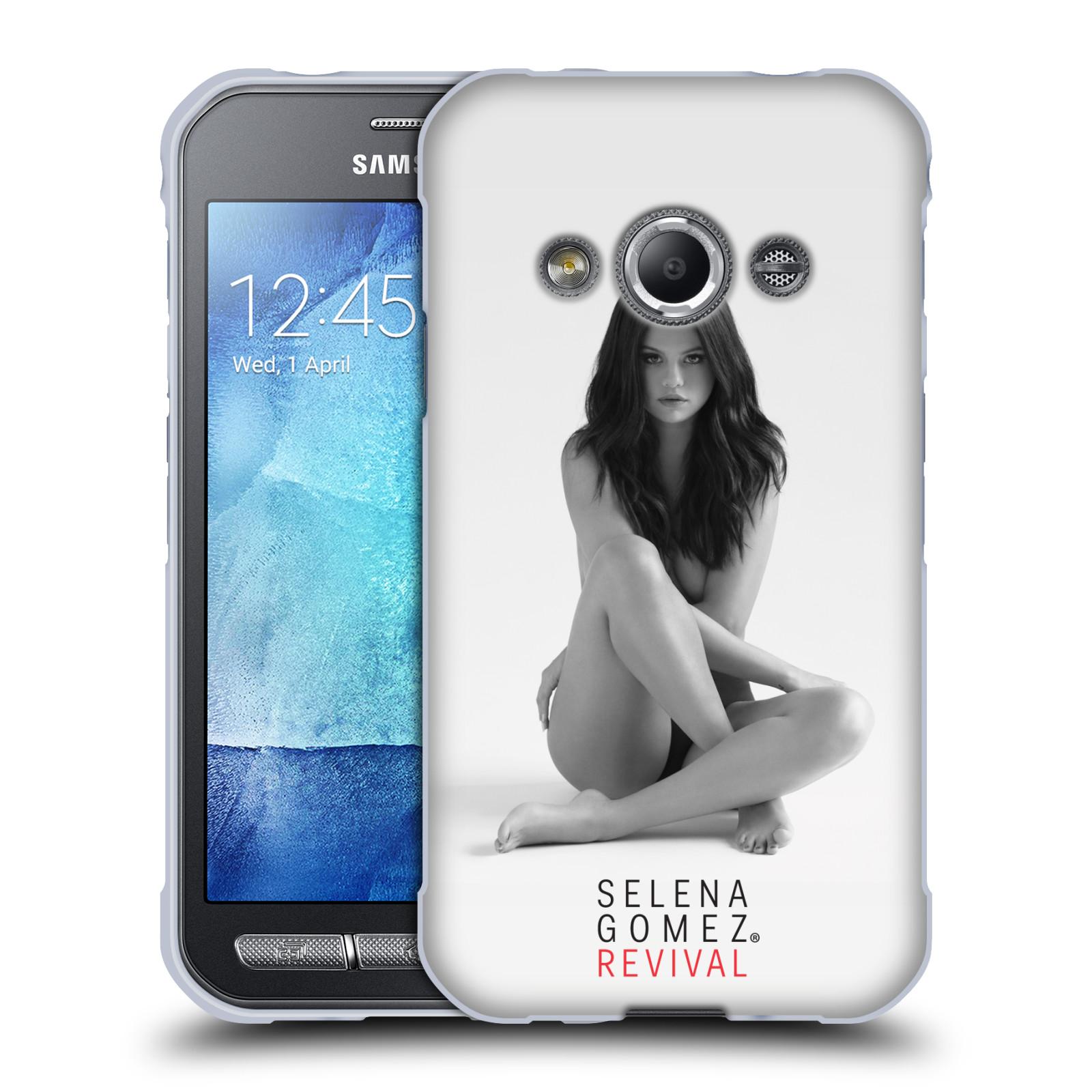 HEAD CASE silikonový obal na mobil Samsung Galaxy Xcover 3 Zpěvačka Selena Gomez foto Revival