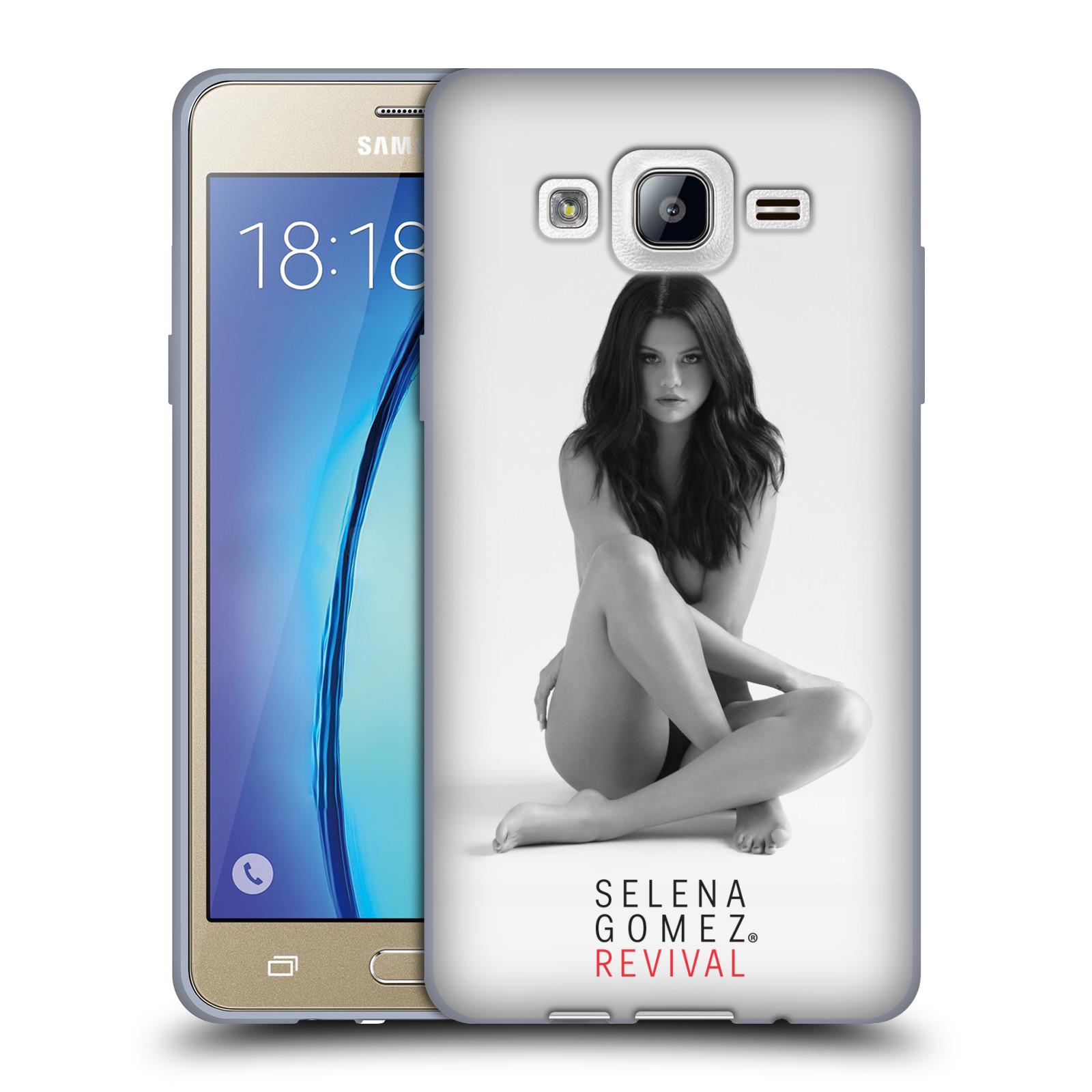 HEAD CASE silikonový obal na mobil Samsung Galaxy On5 Zpěvačka Selena Gomez foto Revival