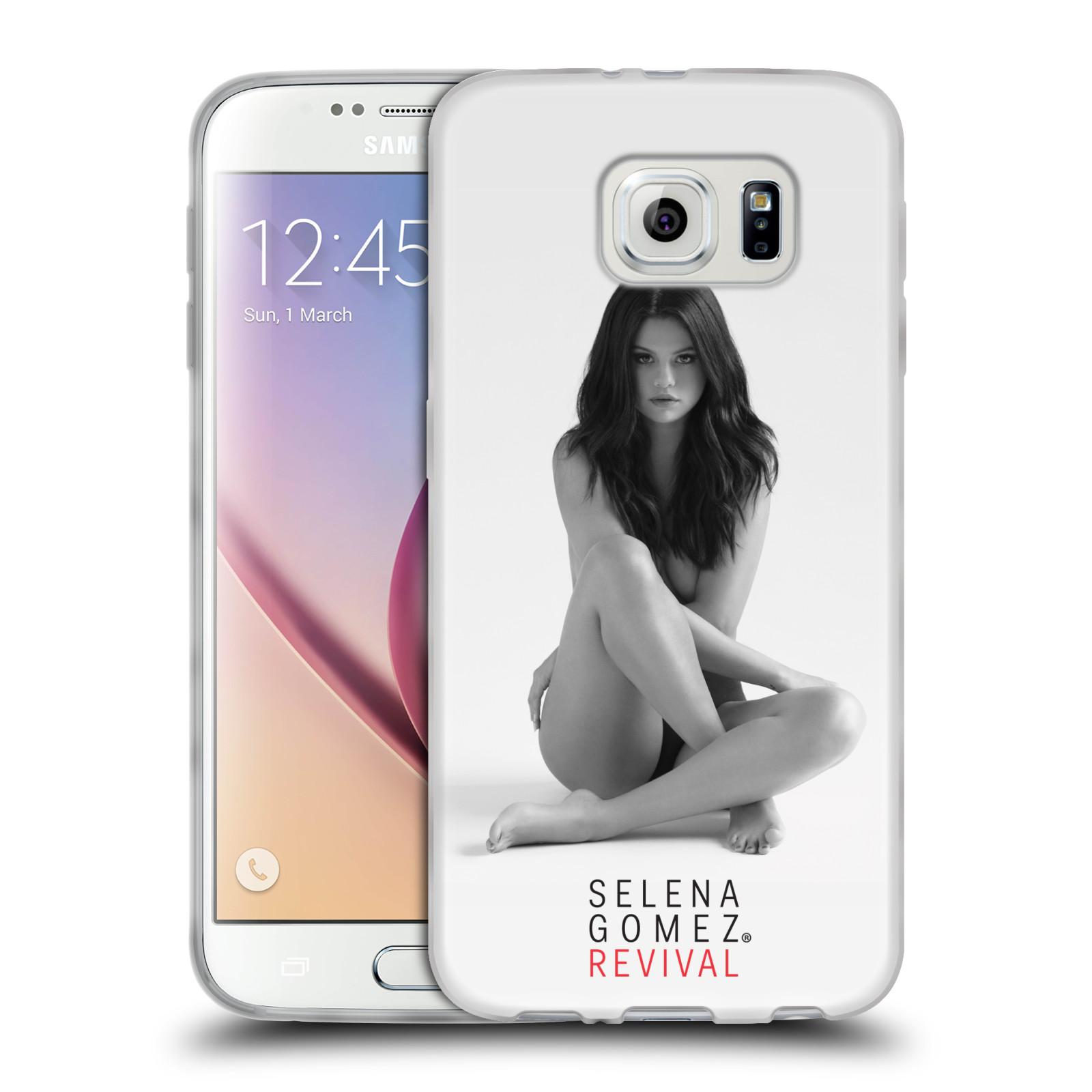HEAD CASE silikonový obal na mobil Samsung Galaxy S6 Zpěvačka Selena Gomez foto Revival
