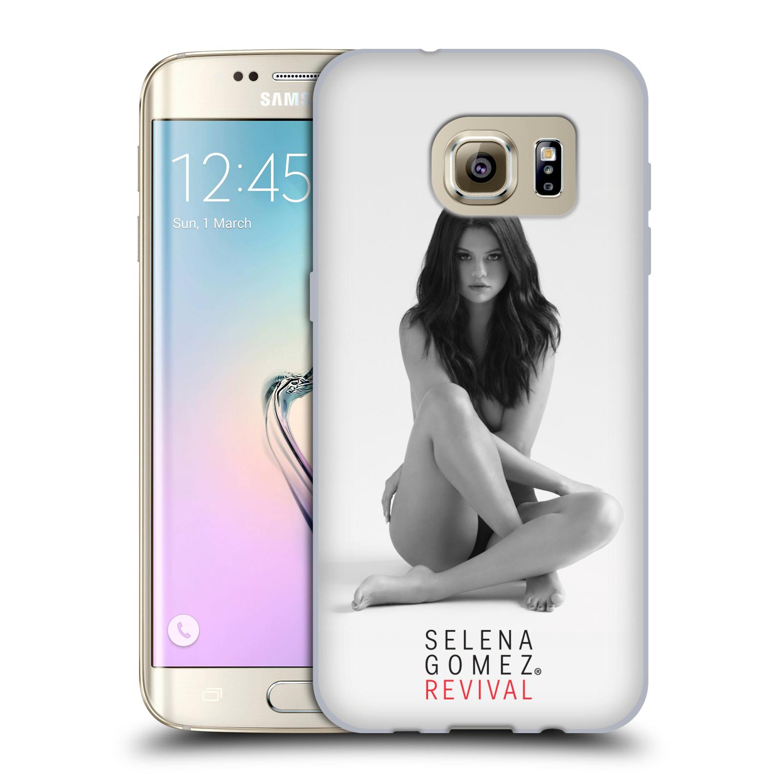 HEAD CASE silikonový obal na mobil Samsung Galaxy S7 EDGE Zpěvačka Selena Gomez foto Revival
