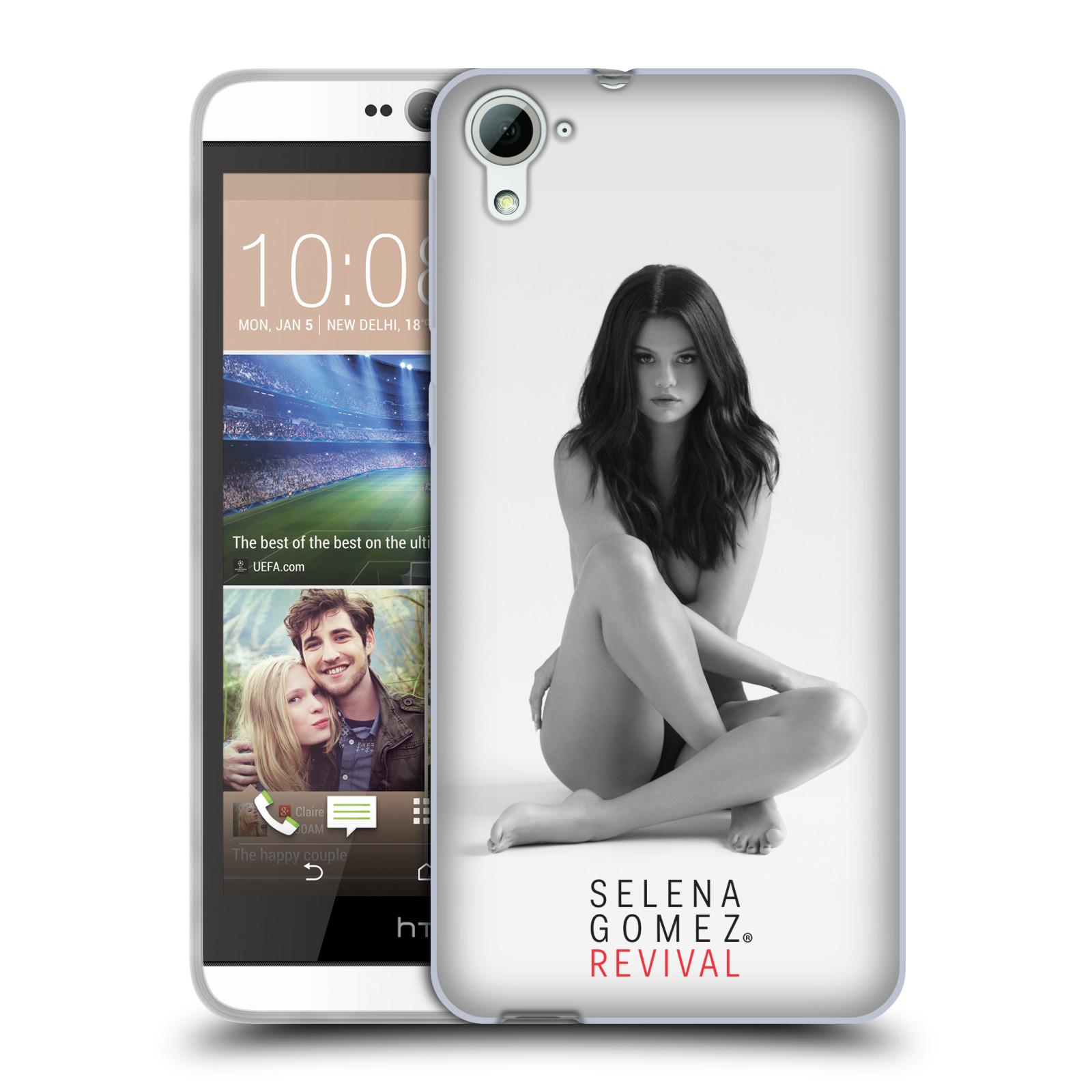 HEAD CASE silikonový obal na mobil HTC Desire 826 Zpěvačka Selena Gomez foto Revival