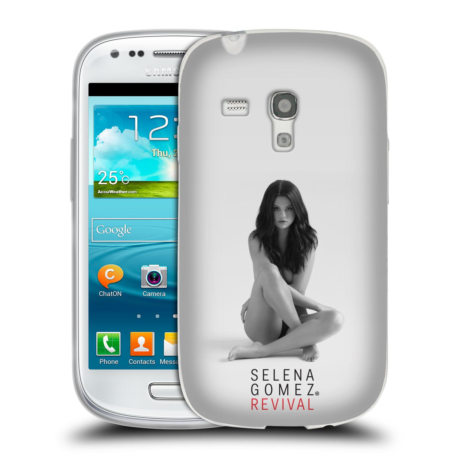 HEAD CASE silikonový obal na mobil Samsung Galaxy S3 MINI Zpěvačka Selena Gomez foto Revival