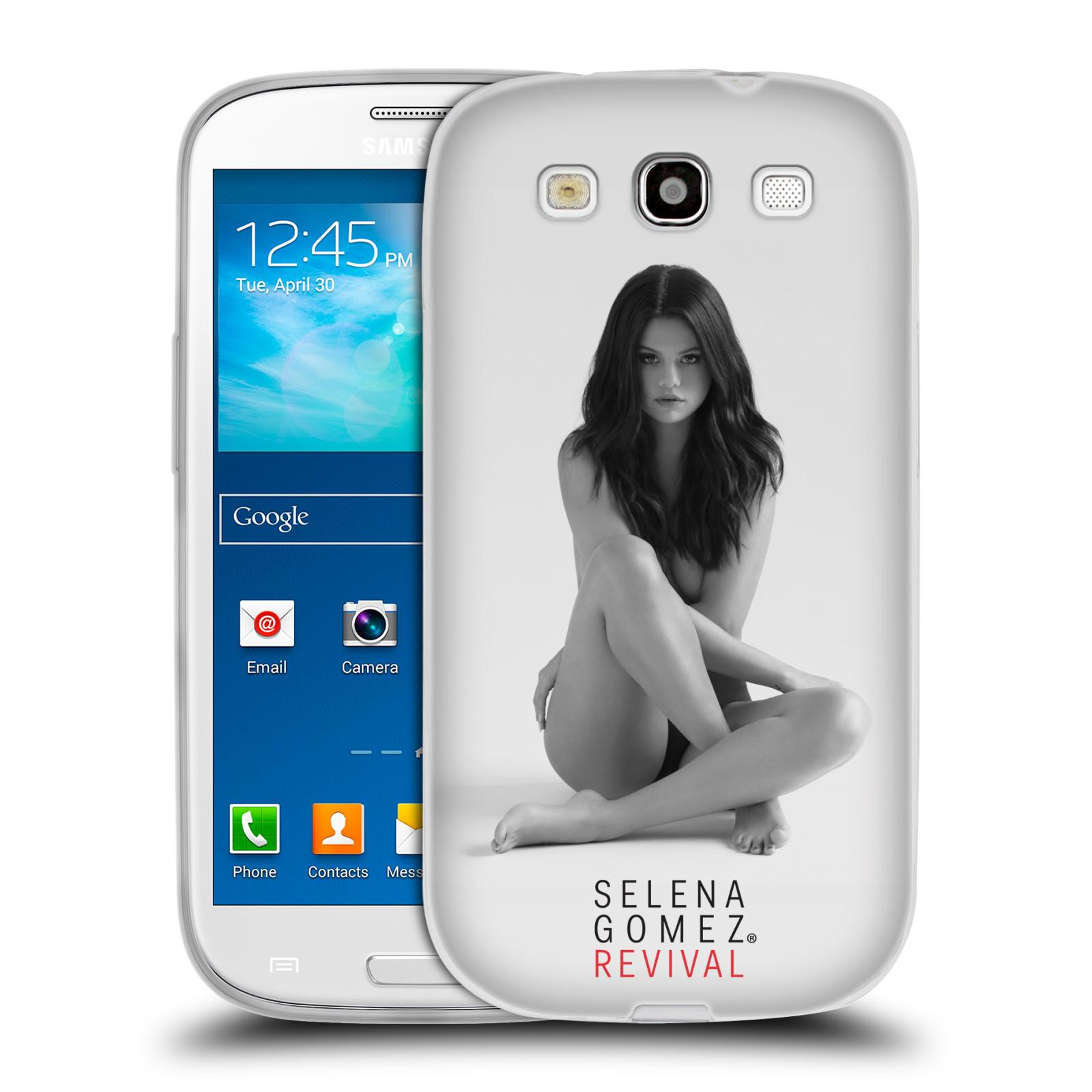 HEAD CASE silikonový obal na mobil Samsung Galaxy S3 Zpěvačka Selena Gomez foto Revival